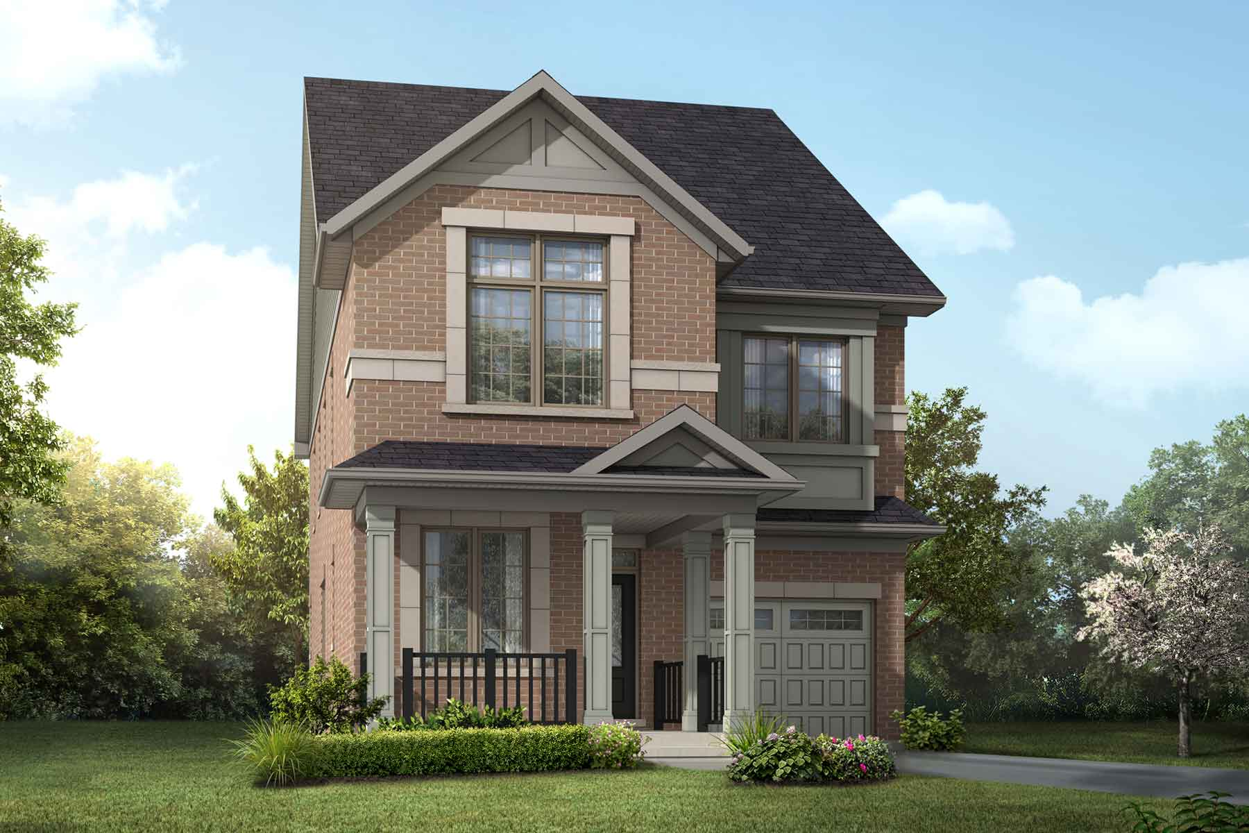 Sky Plan traditional_springwater_sky_main at Springwater in Markham Ontario by Mattamy Homes