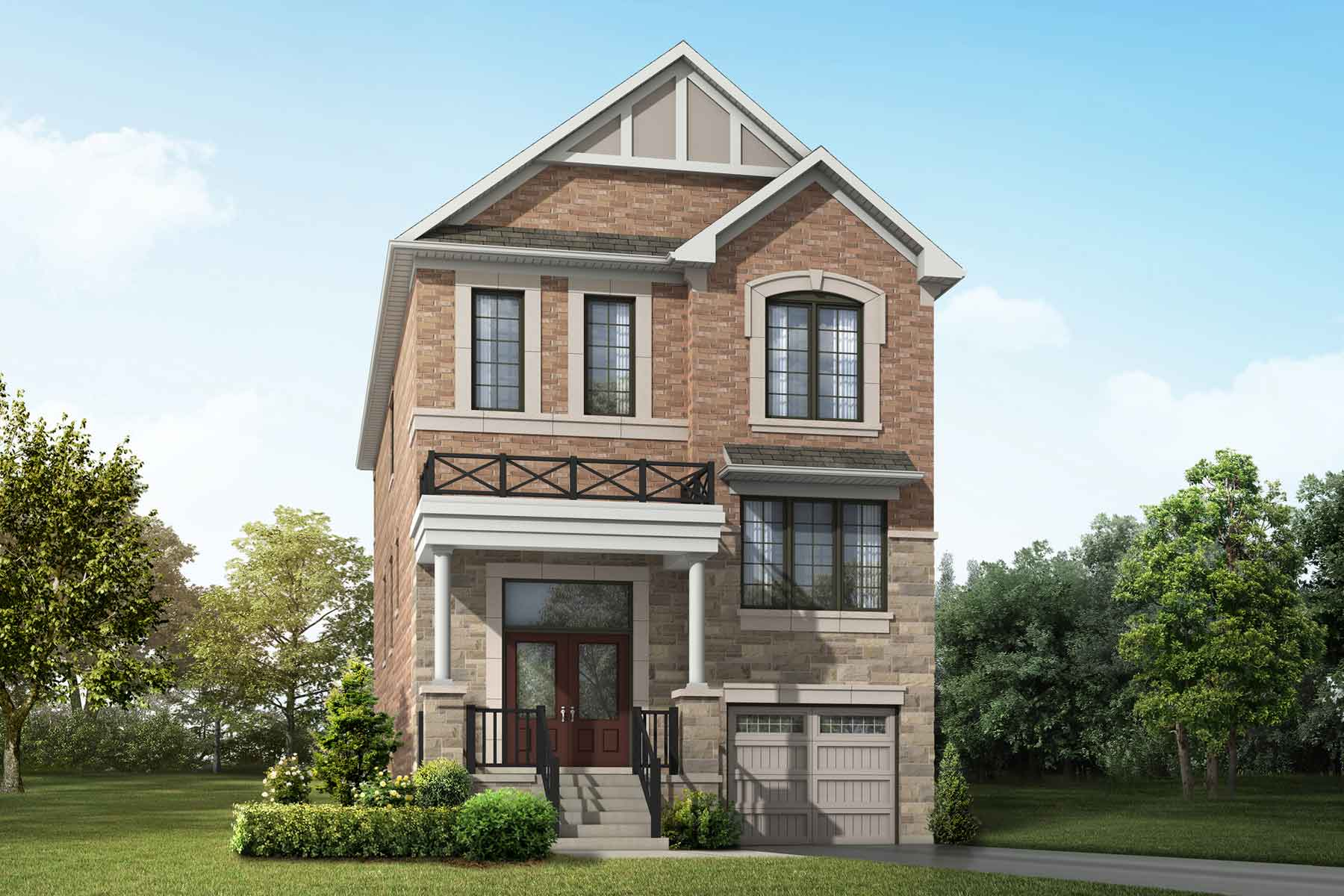 Teal Plan englishmanor_springwater_teal at Springwater in Markham Ontario by Mattamy Homes