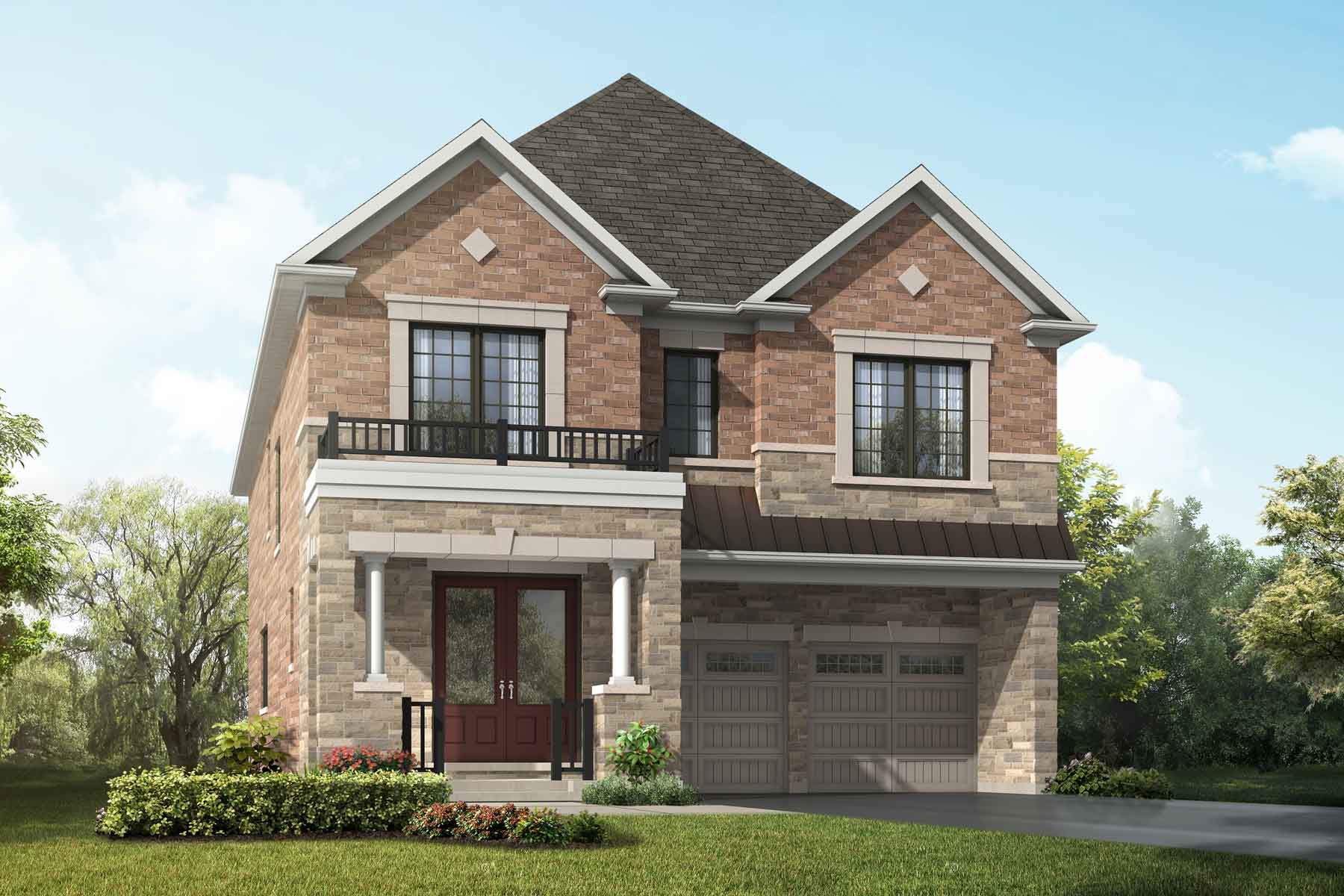 Violet Plan englishmanor_springwater_violet at Springwater in Markham Ontario by Mattamy Homes