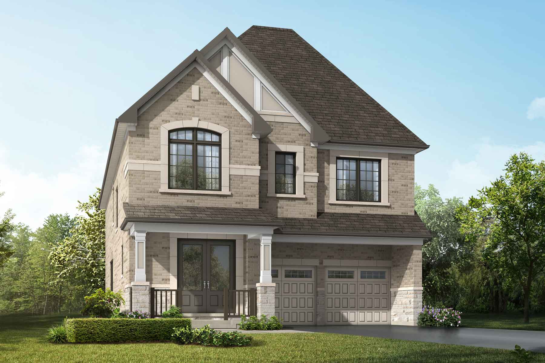 Violet Plan traditional_springwater_violet at Springwater in Markham Ontario by Mattamy Homes