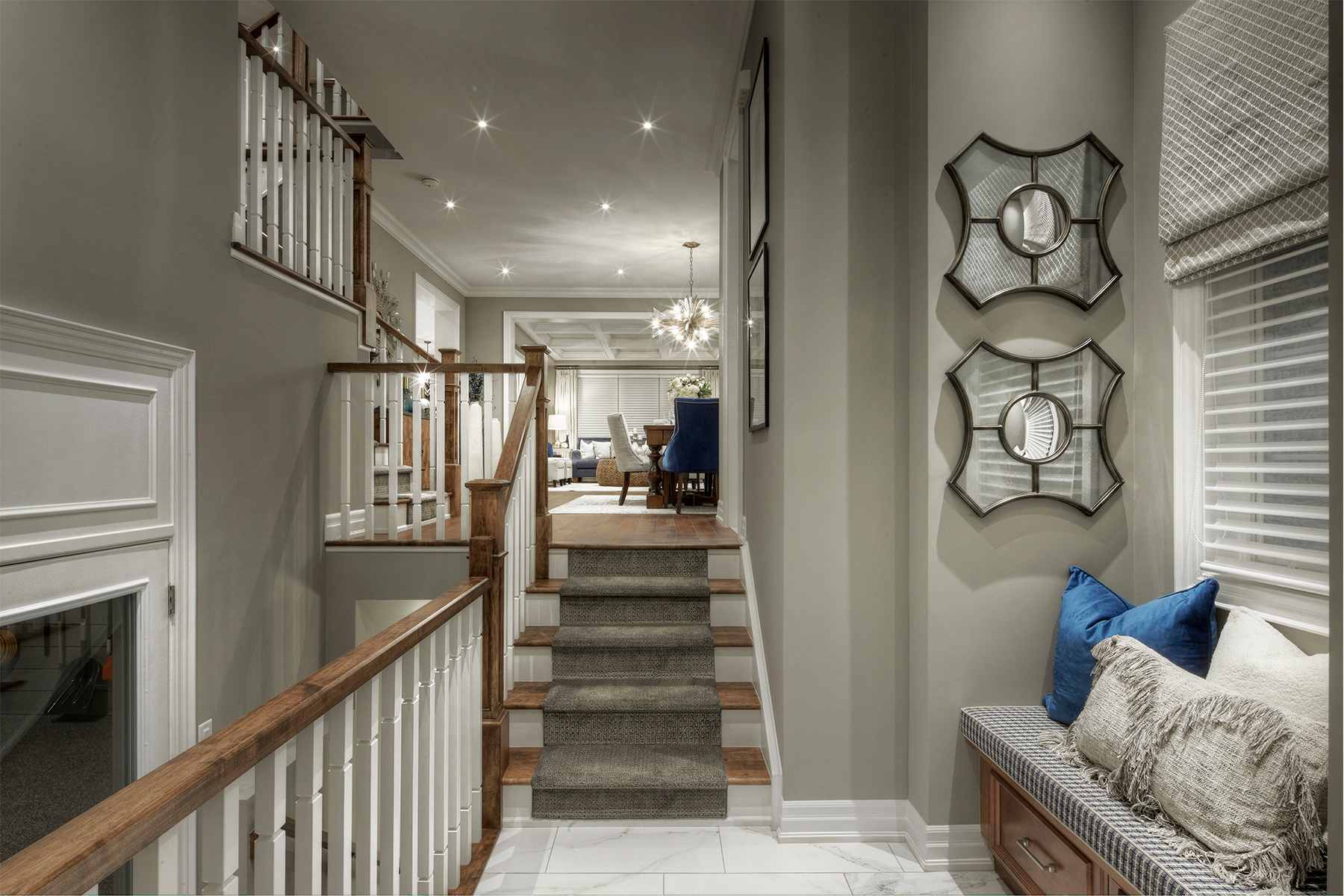 Kingsley Plan Stairs at Upper Joshua Creek in Oakville Ontario by Mattamy Homes