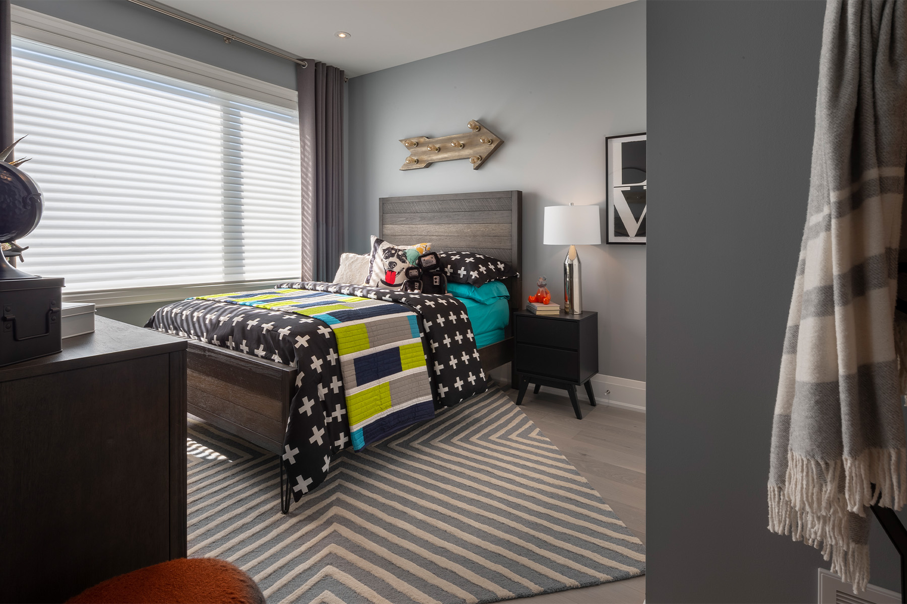 Windfield Plan Bedroom at Upper Joshua Creek in Oakville Ontario by Mattamy Homes