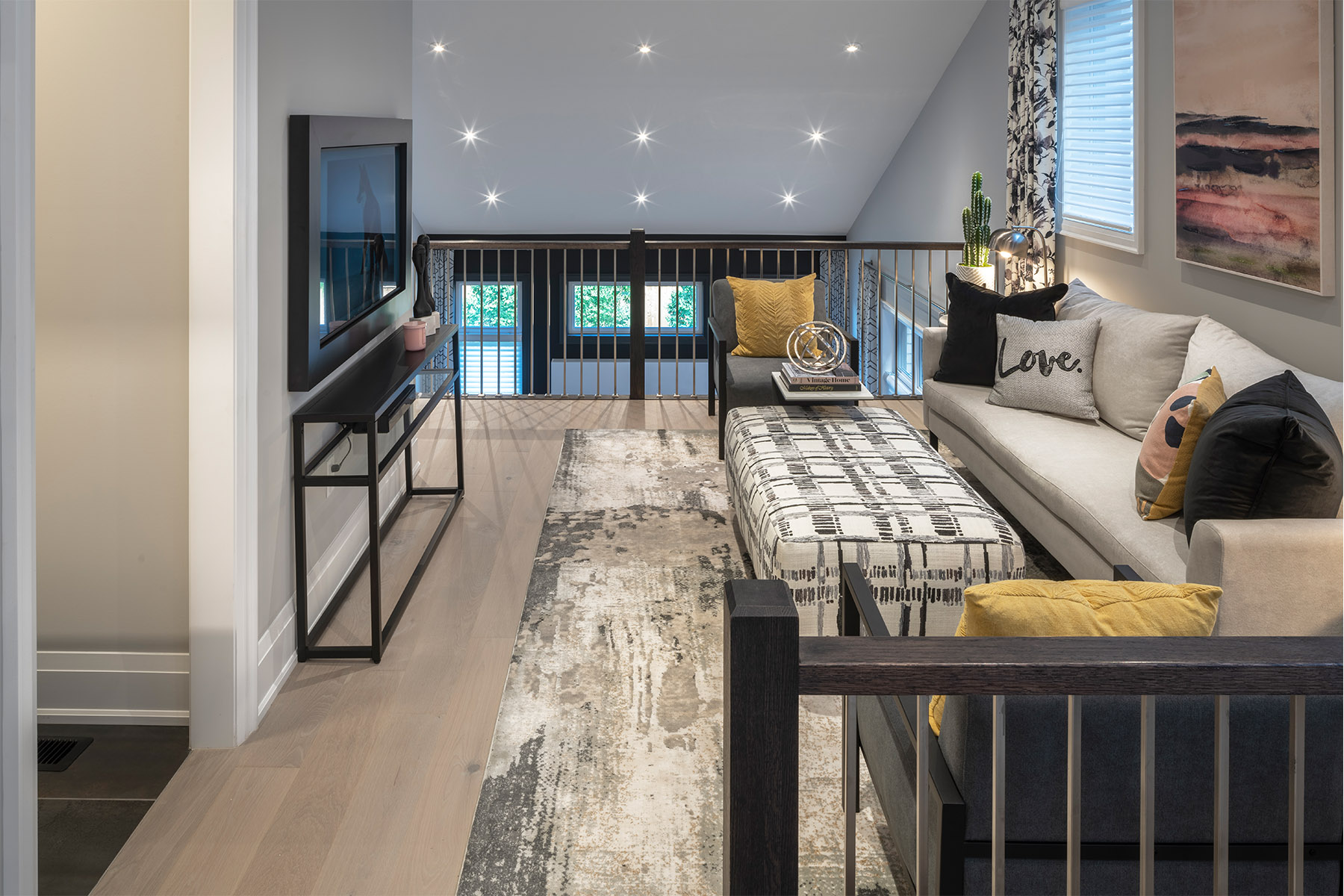 Windfield Plan Media Room at Upper Joshua Creek in Oakville Ontario by Mattamy Homes