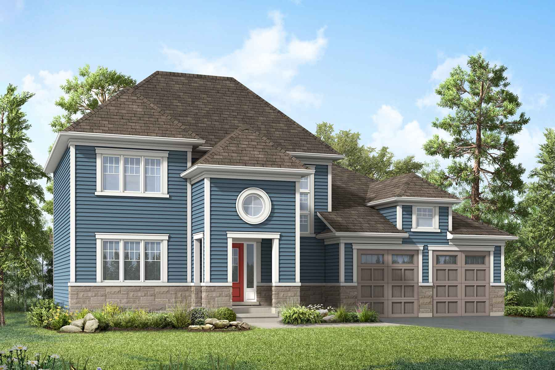 Aspen Plan coastal_whitepines_aspen at White Pines in Bracebridge Ontario by Mattamy Homes