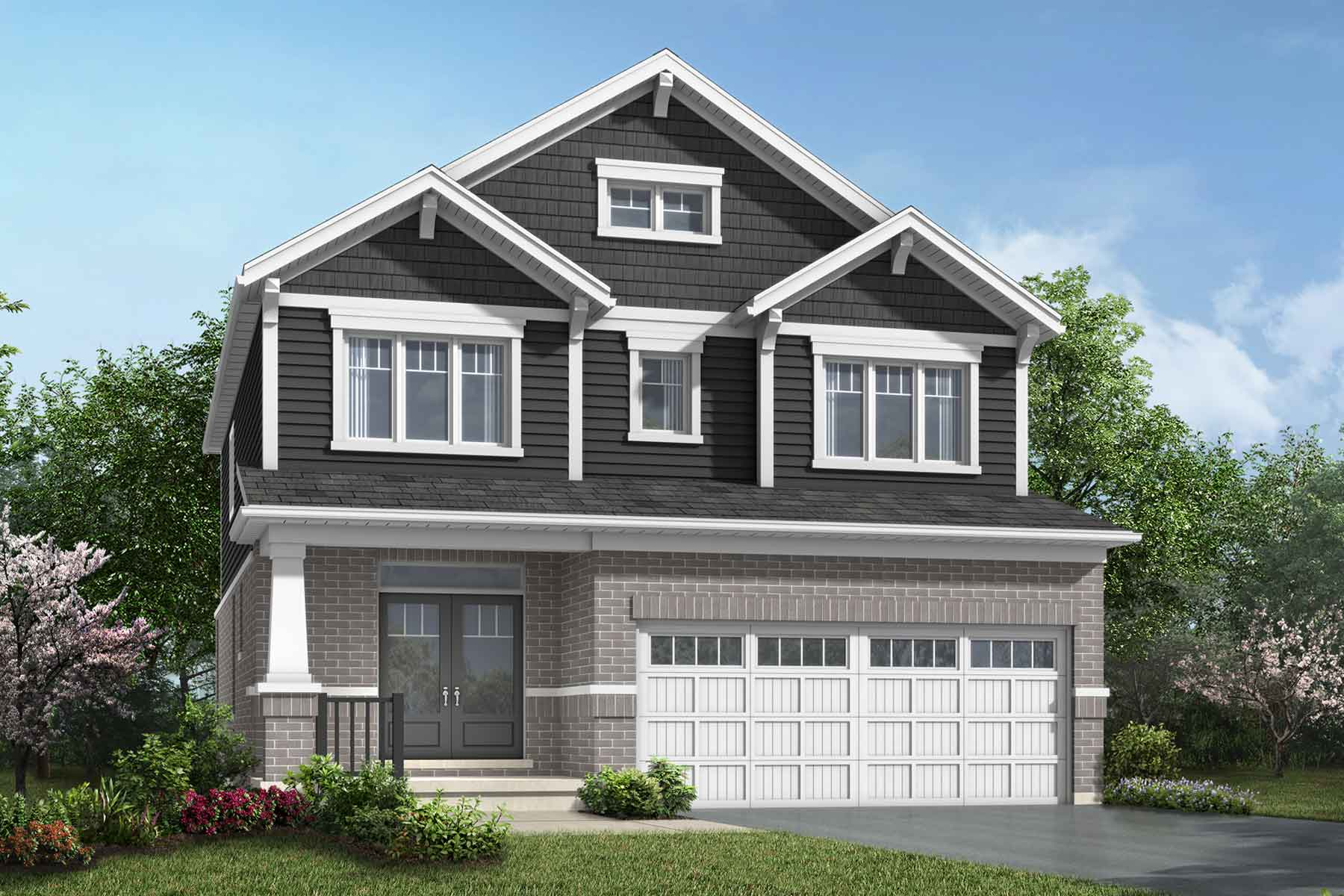 The Brooksdale Plan craftsman_southestates_brooksdale at Wildflower Crossing in Kitchener Ontario by Mattamy Homes