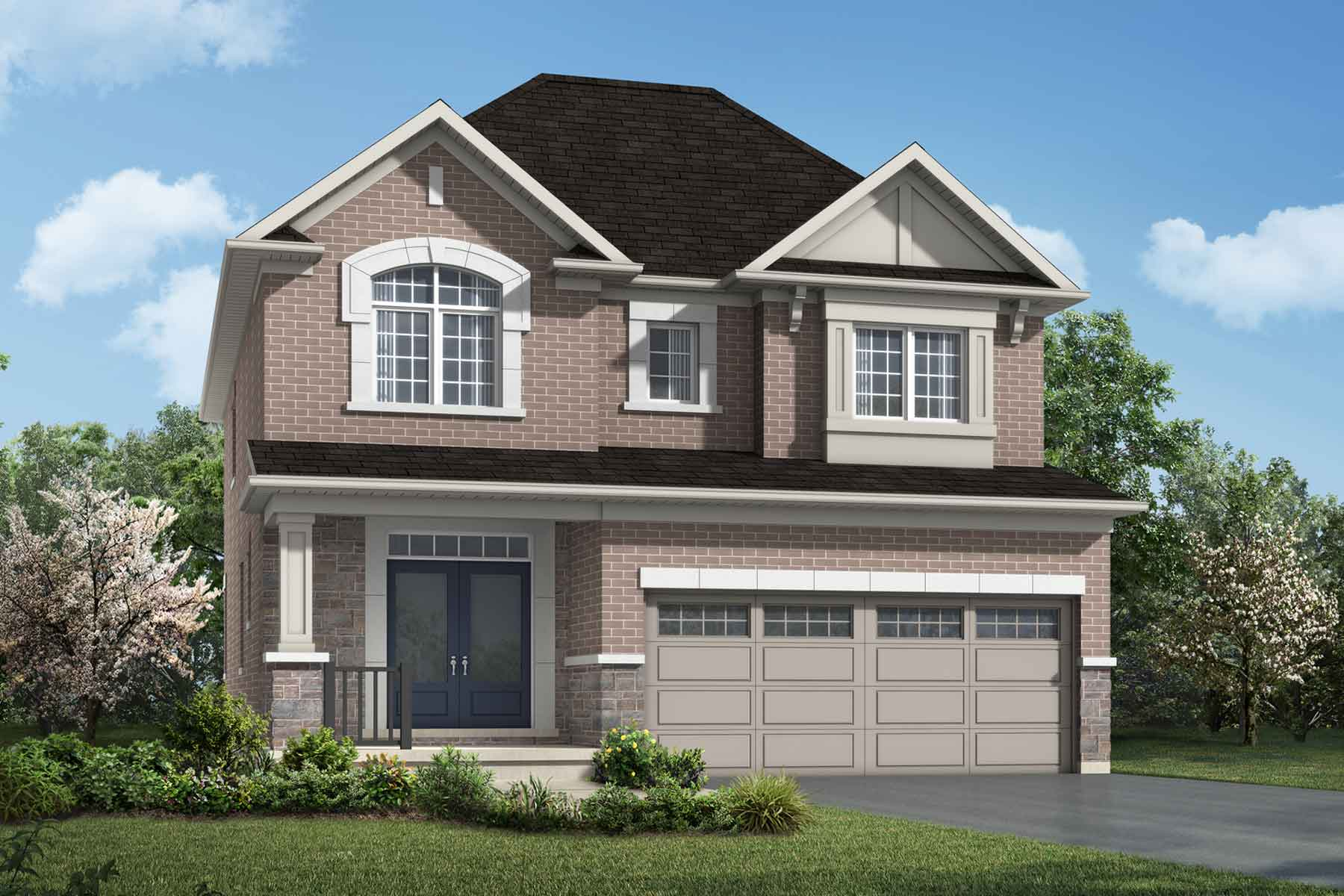 The Brooksdale Plan traditional_southestates_brooksdale at Wildflower Crossing in Kitchener Ontario by Mattamy Homes