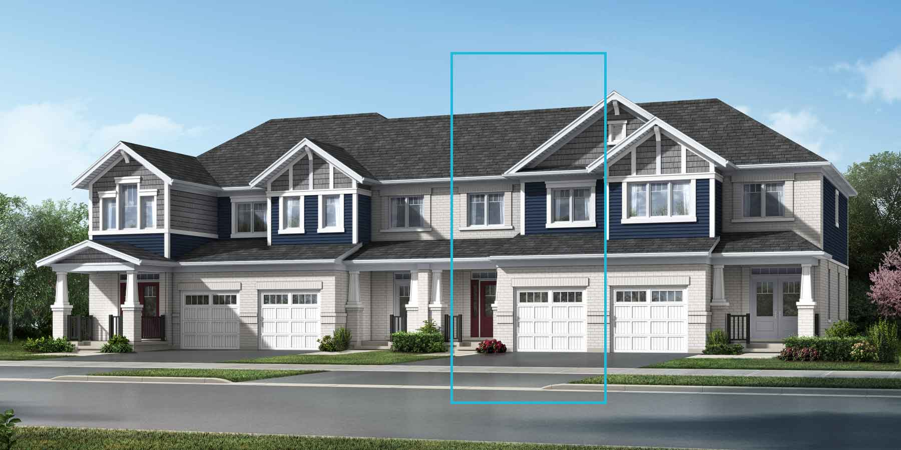 The Cranbrook Plan elevationcraftsman_suothestates_cranbrook at Wildflower Crossing in Kitchener Ontario by Mattamy Homes