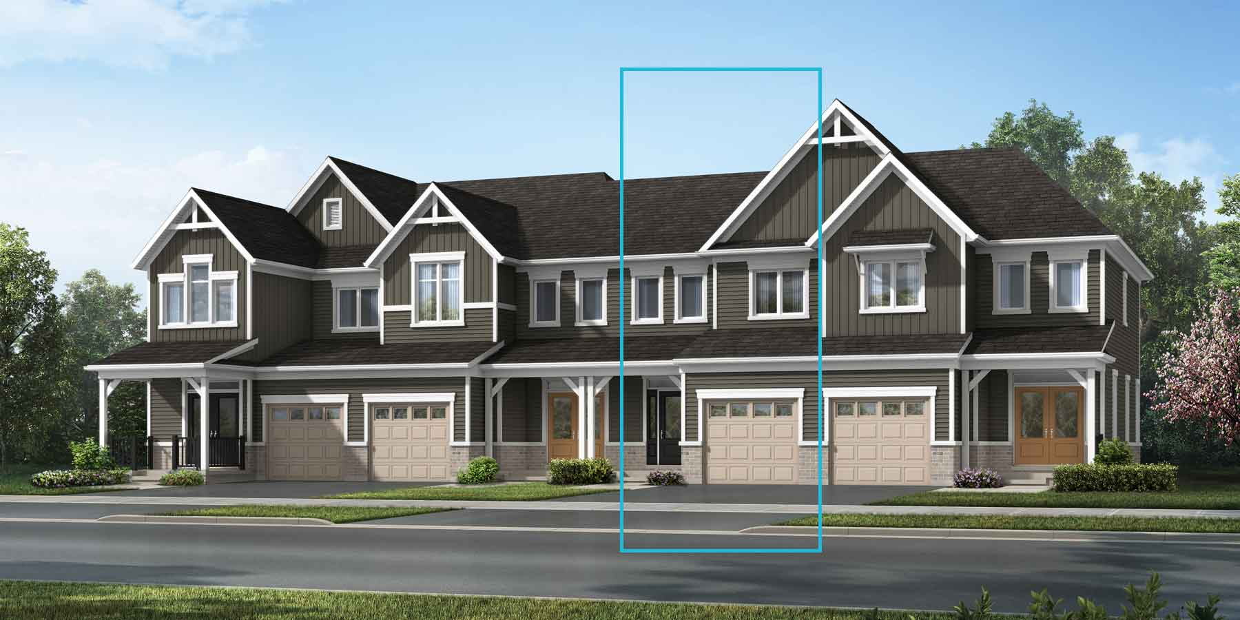 The Cranbrook Plan elevationfarmhouse_southestates_cranbrook_main at Wildflower Crossing in Kitchener Ontario by Mattamy Homes