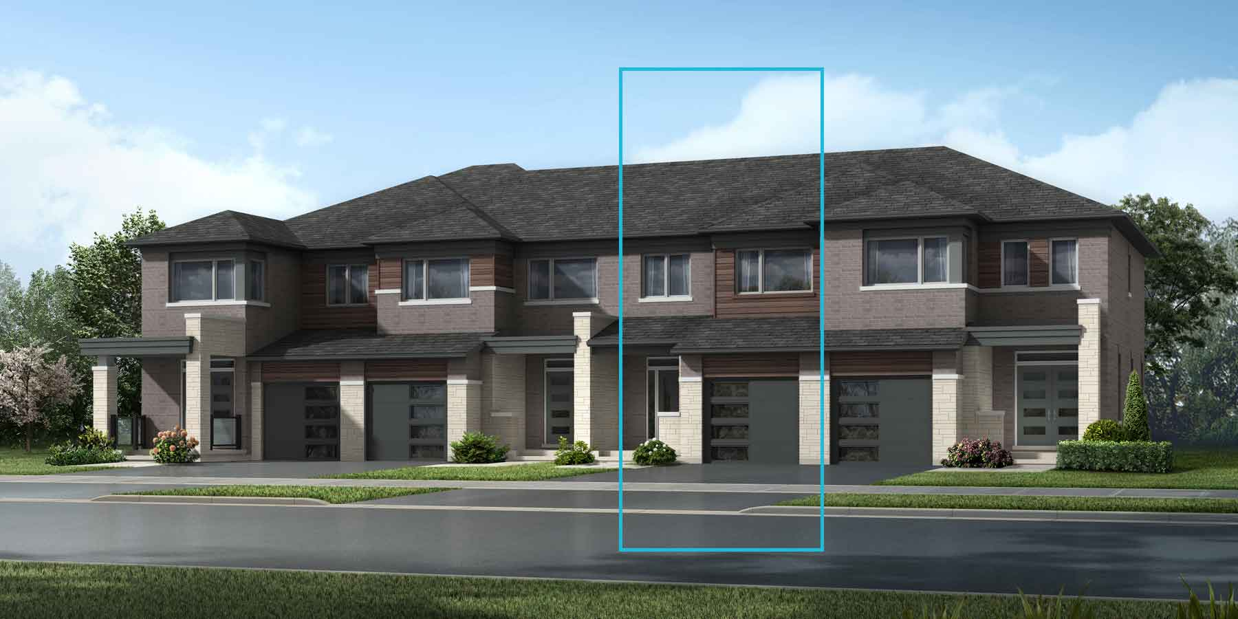 The Cranbrook Plan elevationtransitional_southestates_cranbrook at Wildflower Crossing in Kitchener Ontario by Mattamy Homes