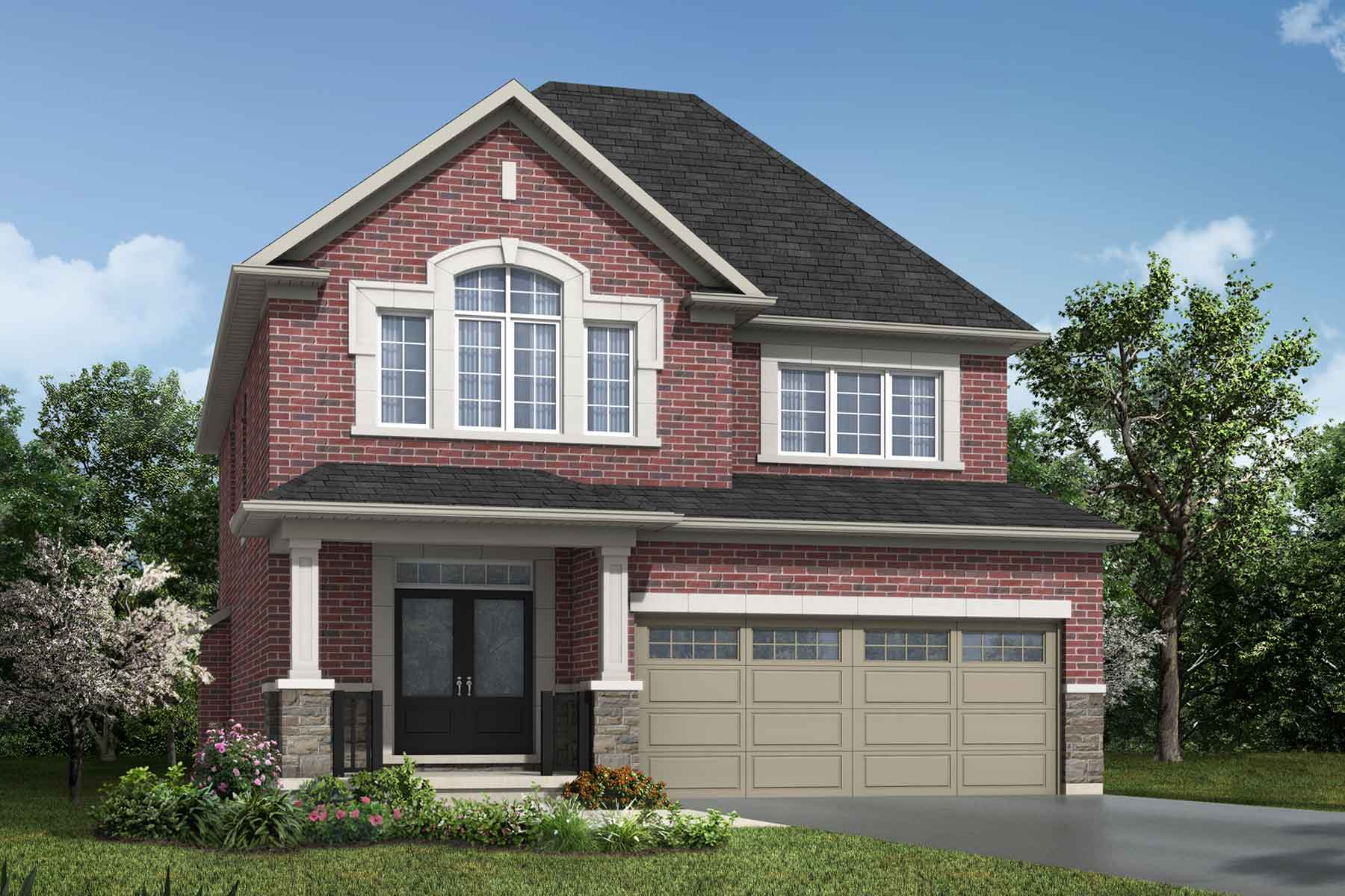 The Hawkesville Plan traditional_southestates_hawkesville at Wildflower Crossing in Kitchener Ontario by Mattamy Homes