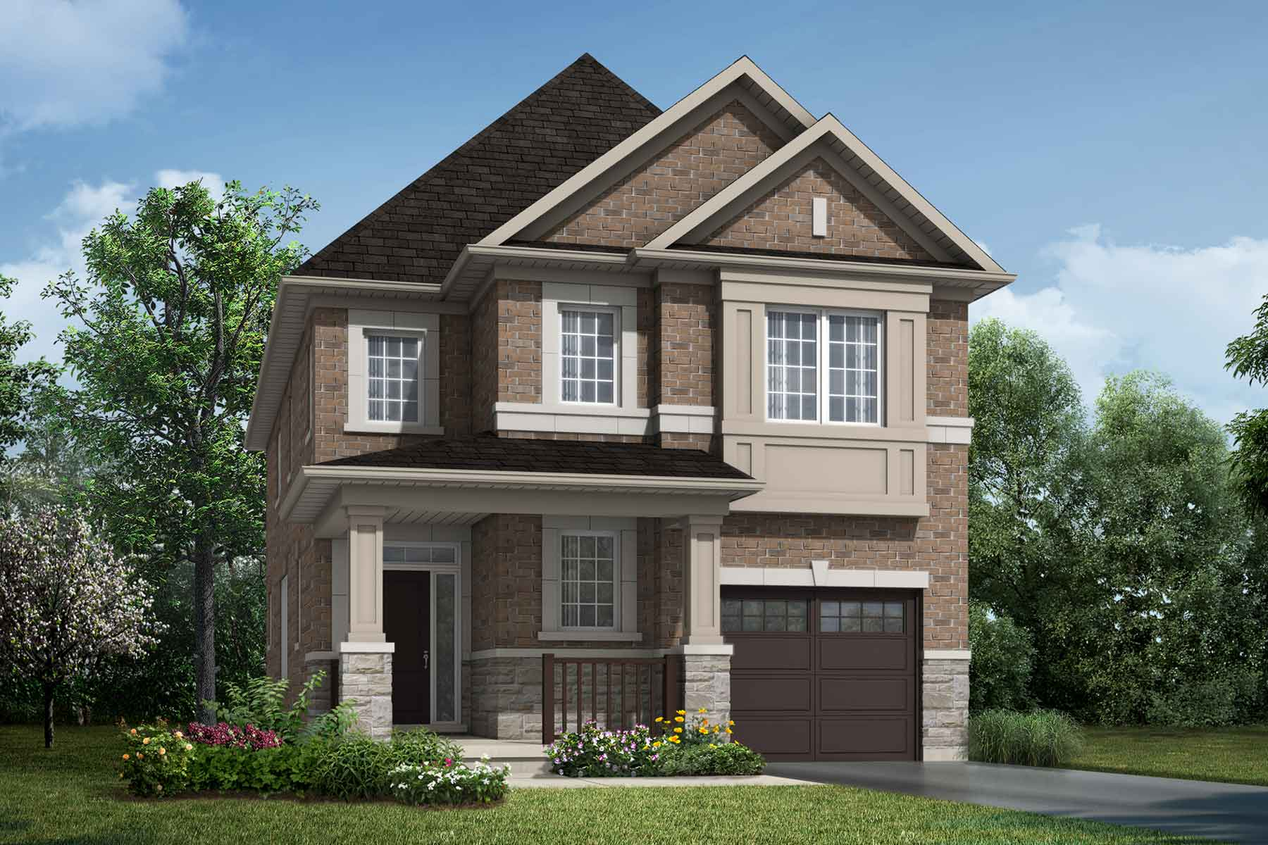 The Linwood Plan traditional_southestates_linwood at Wildflower Crossing in Kitchener Ontario by Mattamy Homes
