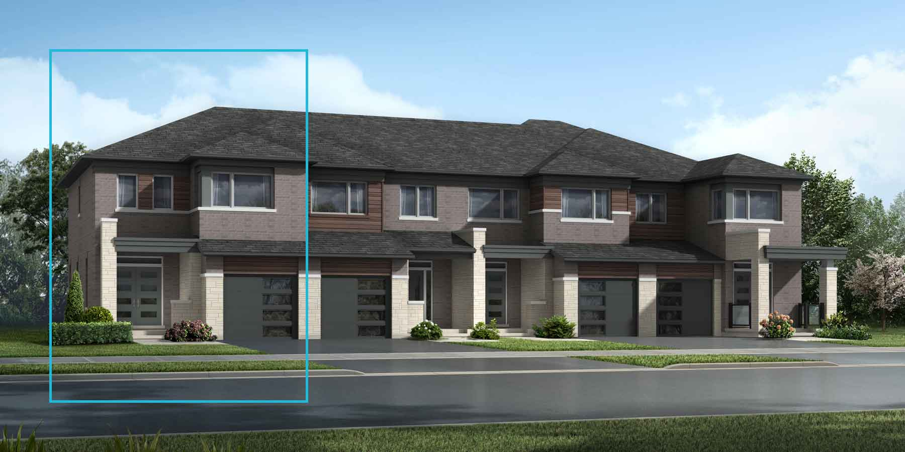 The Millbank End Plan elevationtransitional_southestates_millbankend at Wildflower Crossing in Kitchener Ontario by Mattamy Homes
