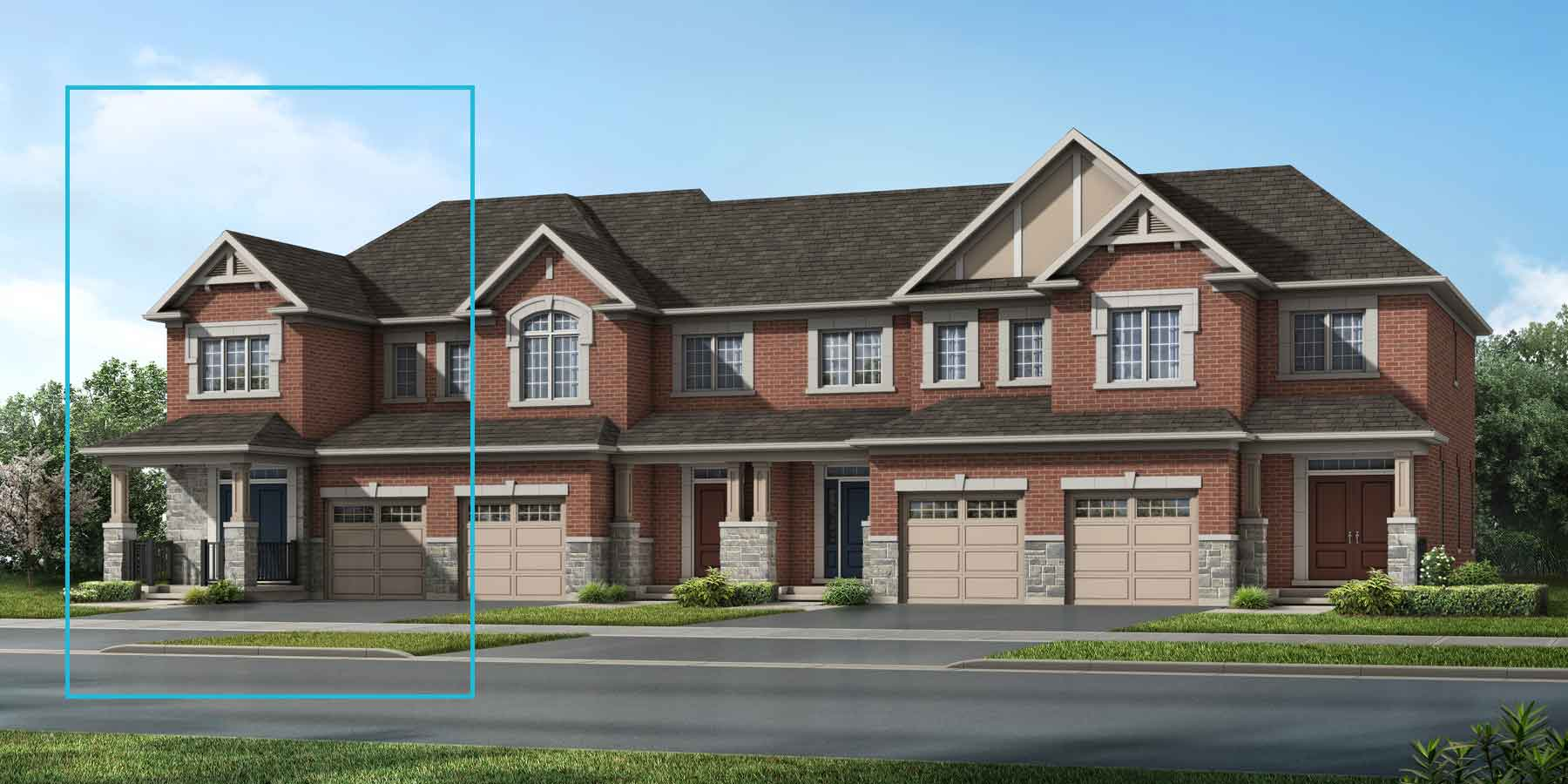 The Trussler End Plan elevationtraditional_southestates_trusslerned at Wildflower Crossing in Kitchener Ontario by Mattamy Homes