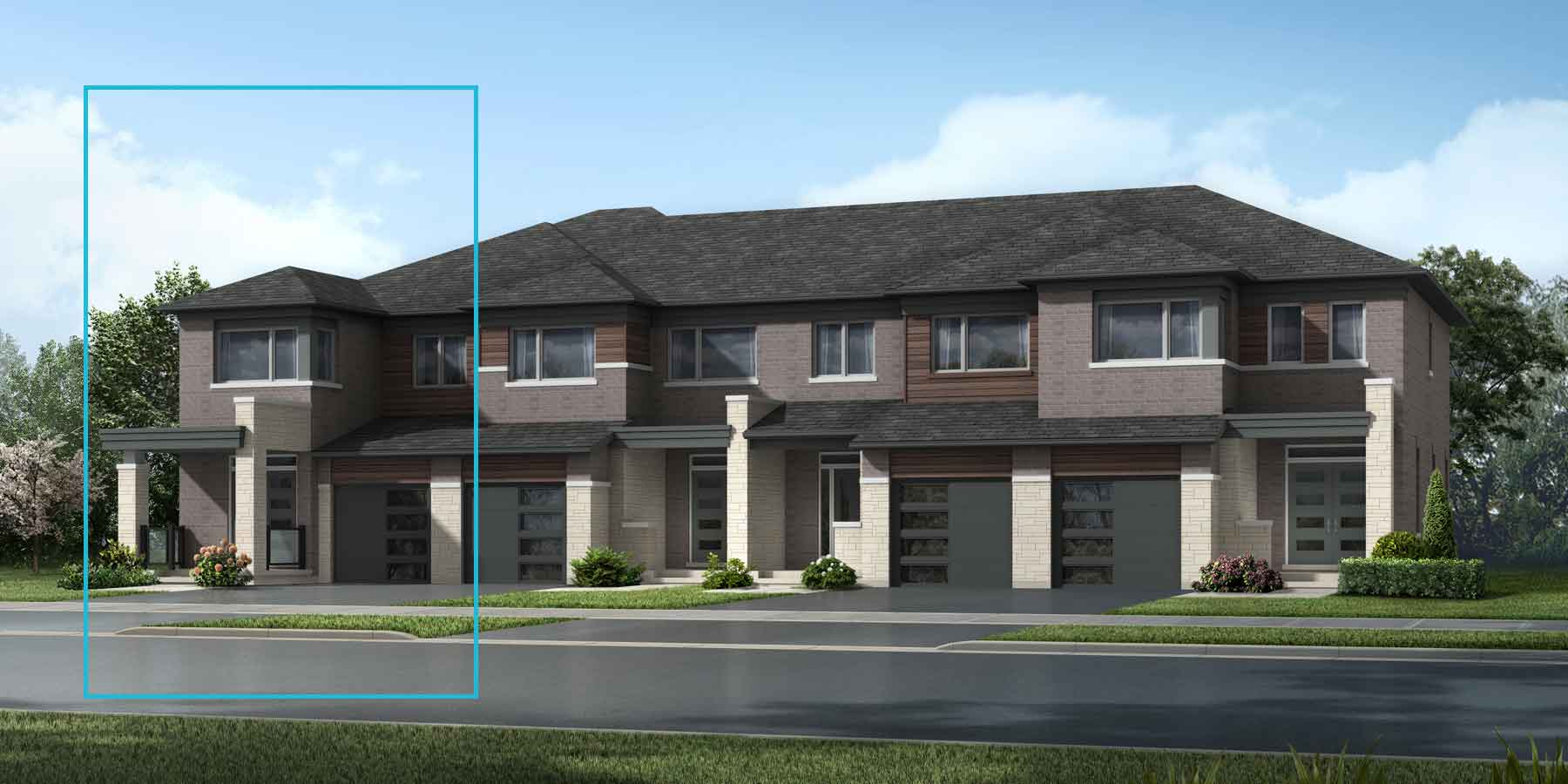 The Trussler End Plan elevationtransitional_southestates_trusslerned at Wildflower Crossing in Kitchener Ontario by Mattamy Homes