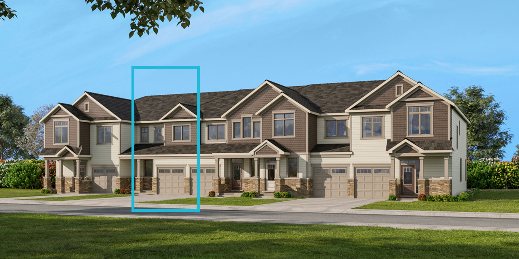Fir Plan TownHomes at Connections In Kanata in Kanata Ontario by Mattamy Homes