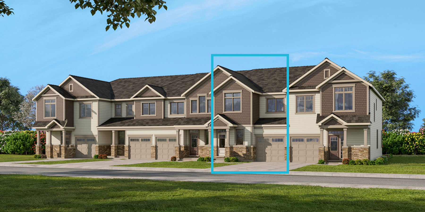 Elm Plan TownHomes at Connections In Kanata in Kanata Ontario by Mattamy Homes