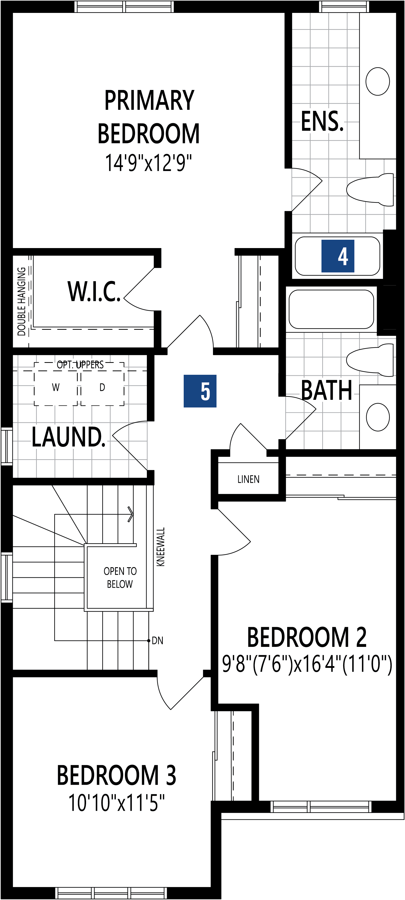 Oak End Plan Floor Plan at Connections In Kanata in Kanata Ontario by Mattamy Homes