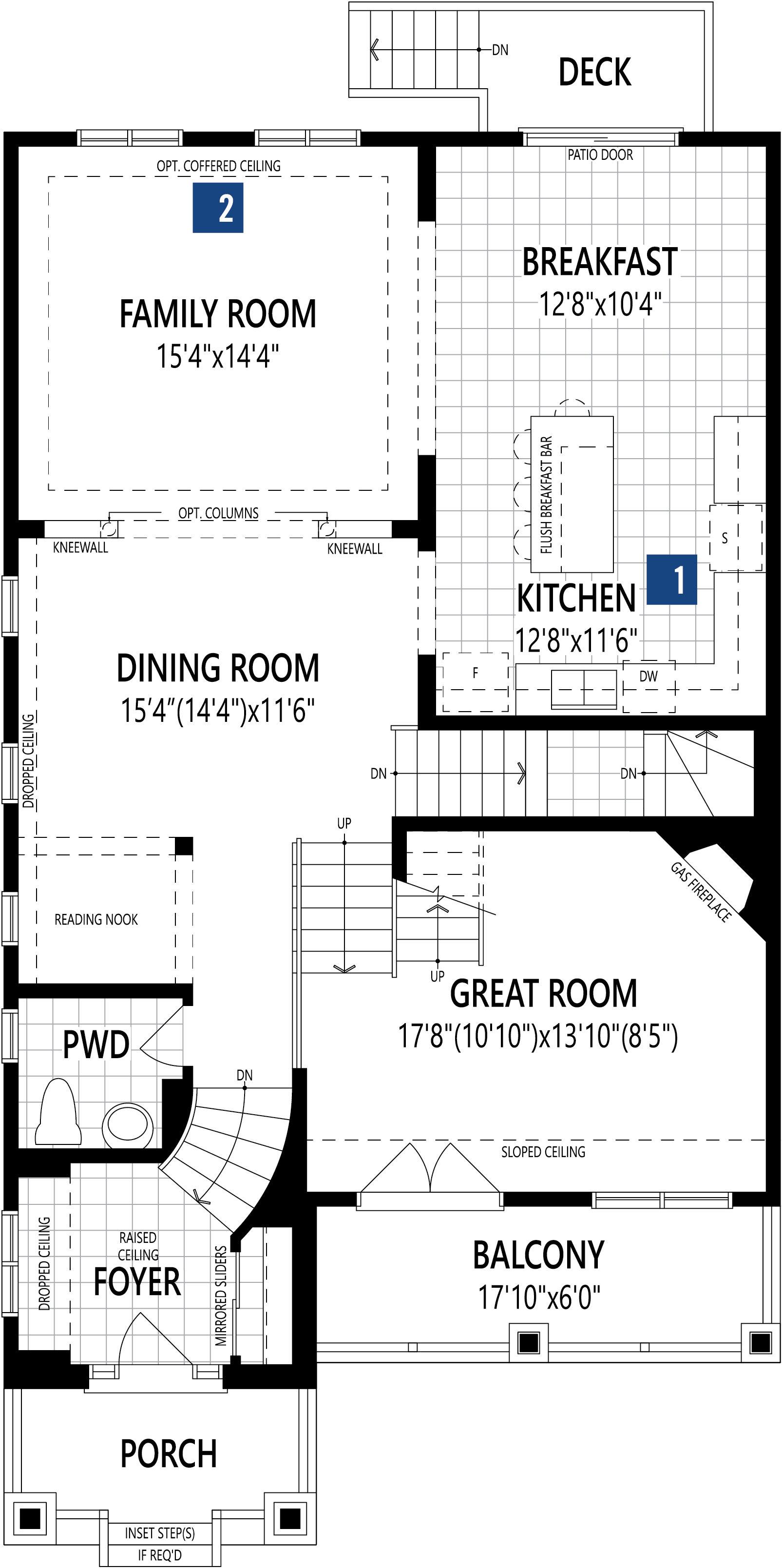 Shelburne Plan Floor Plan at Connections In Kanata in Kanata Ontario by Mattamy Homes