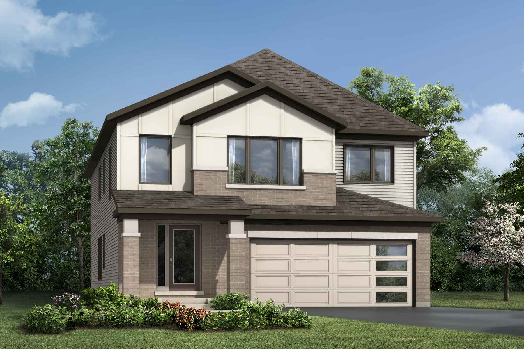 Connections In Kanata Elevation Front in Kanata Ontario by Mattamy Homes