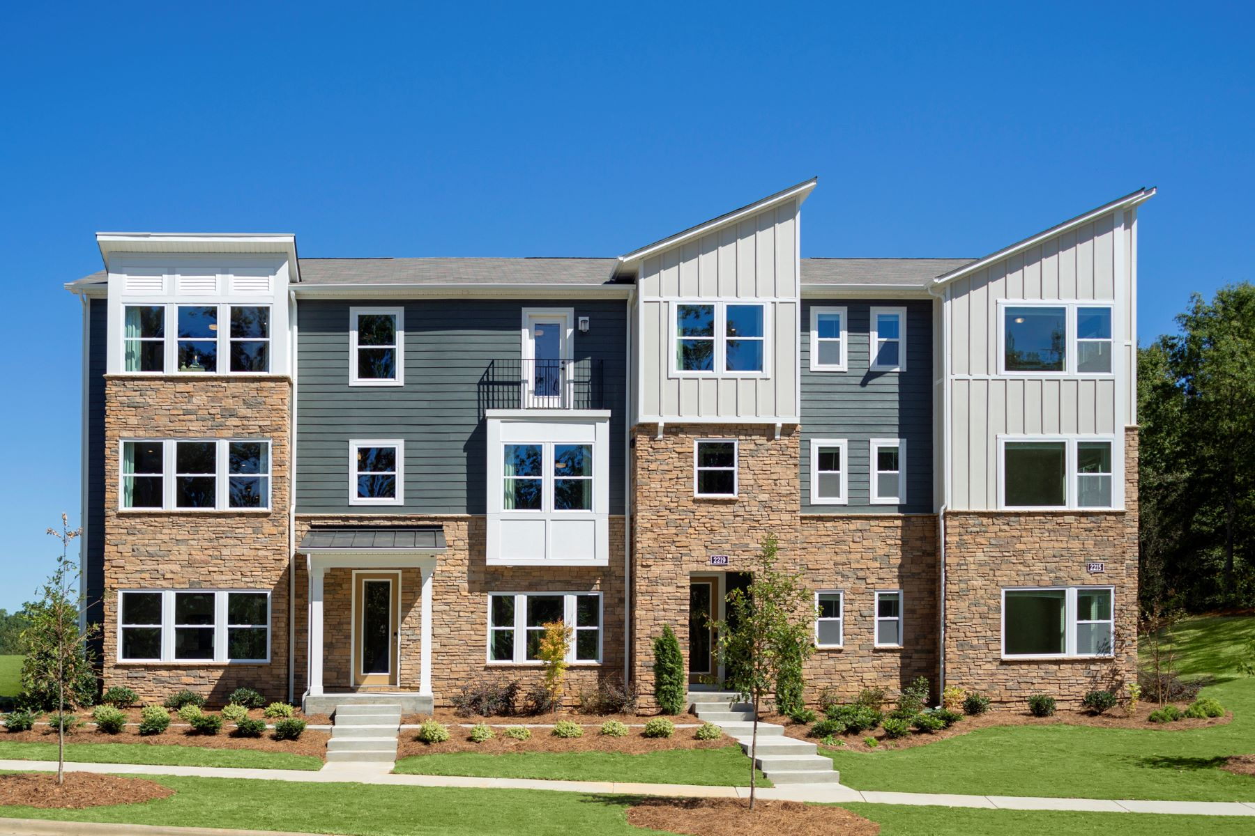 Aria at The Park TownHomes in Charlotte North Carolina by Mattamy Homes