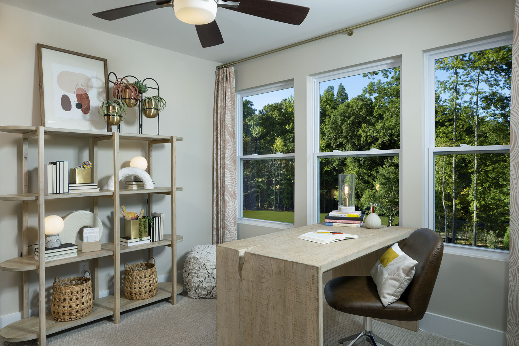 Gramercy Plan Study Room at Aria at The Park in Charlotte North Carolina by Mattamy Homes