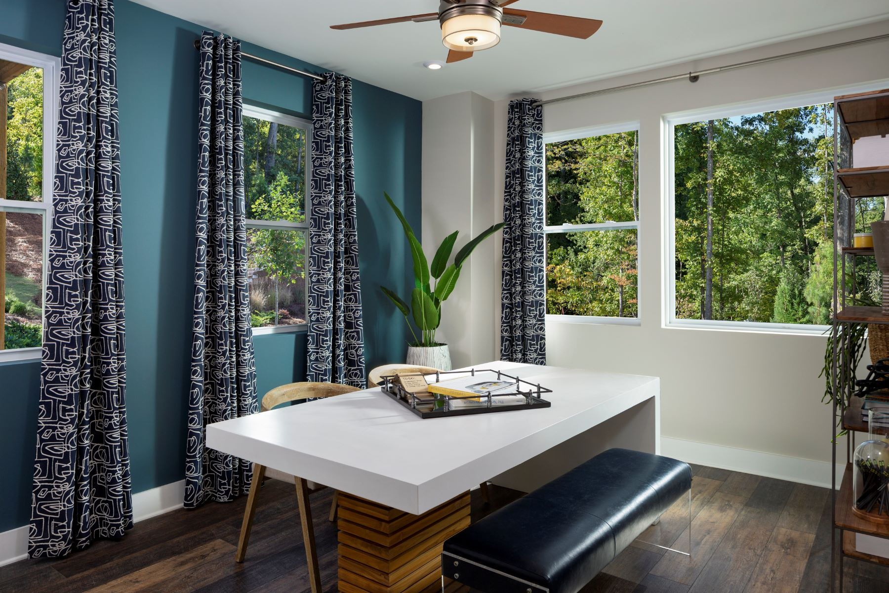 Soho Plan CLT_ATP_SoHo_Model_Ground_Floor_Bed_1800x1200 at Aria at The Park in Charlotte North Carolina by Mattamy Homes
