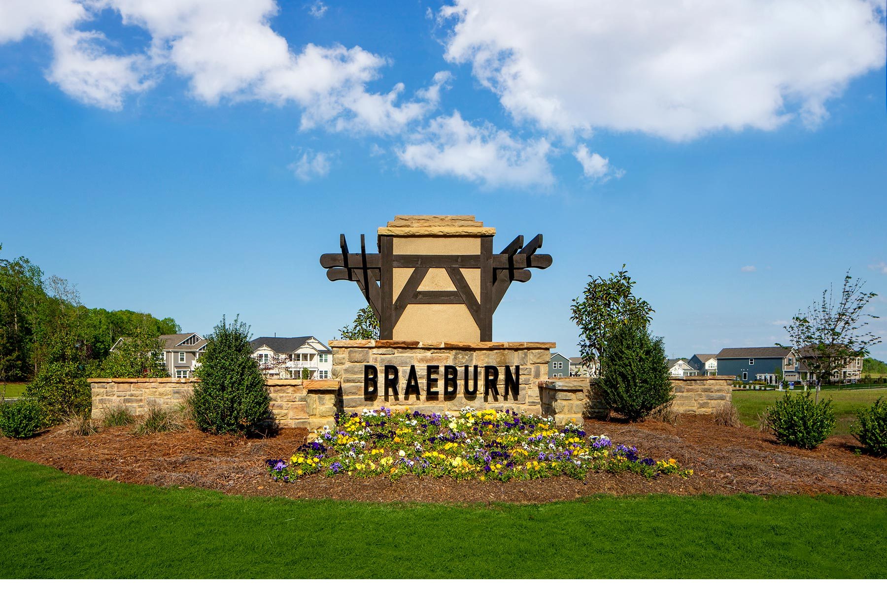 Braeburn Monument in Indian Trail North Carolina by Mattamy Homes
