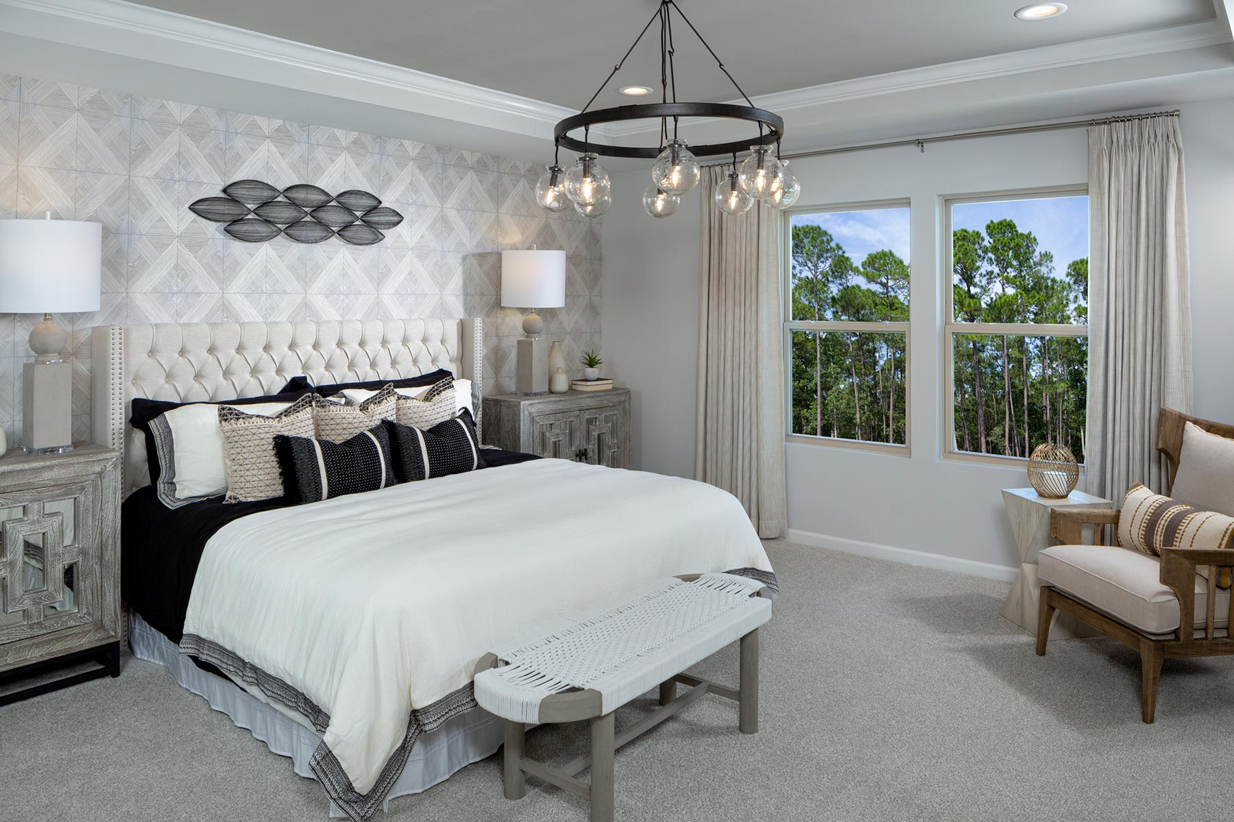 Braeburn Bedroom in Indian Trail North Carolina by Mattamy Homes