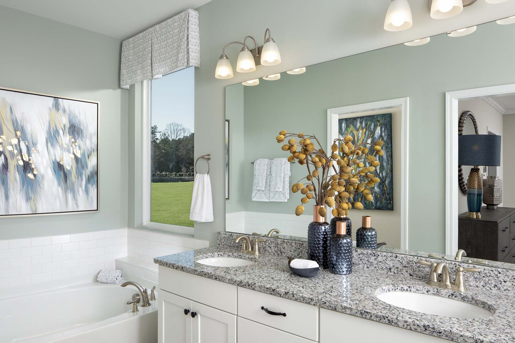 Braeburn Bathroom_Master Bath in Indian Trail North Carolina by Mattamy Homes
