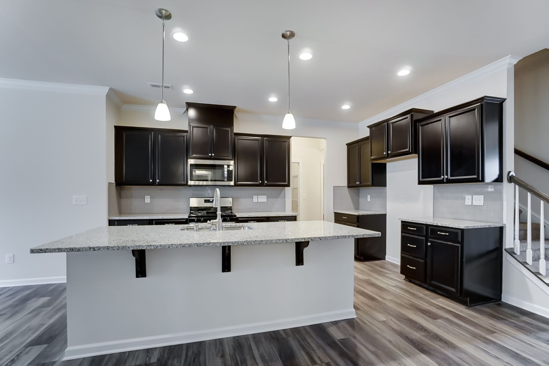 Evelyn Plan Kitchen at Braeburn in Indian Trail North Carolina by Mattamy Homes