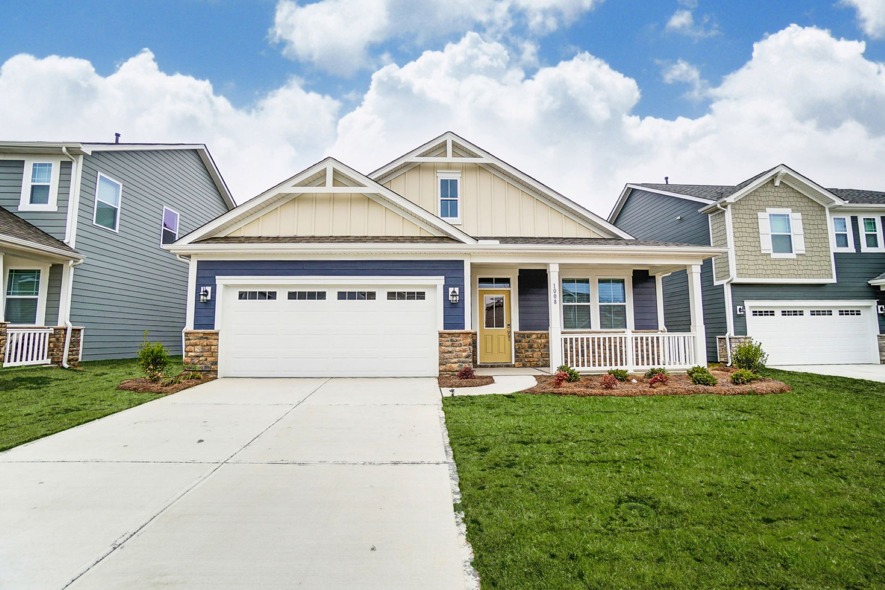 Braeburn Elevation Front in Indian Trail North Carolina by Mattamy Homes