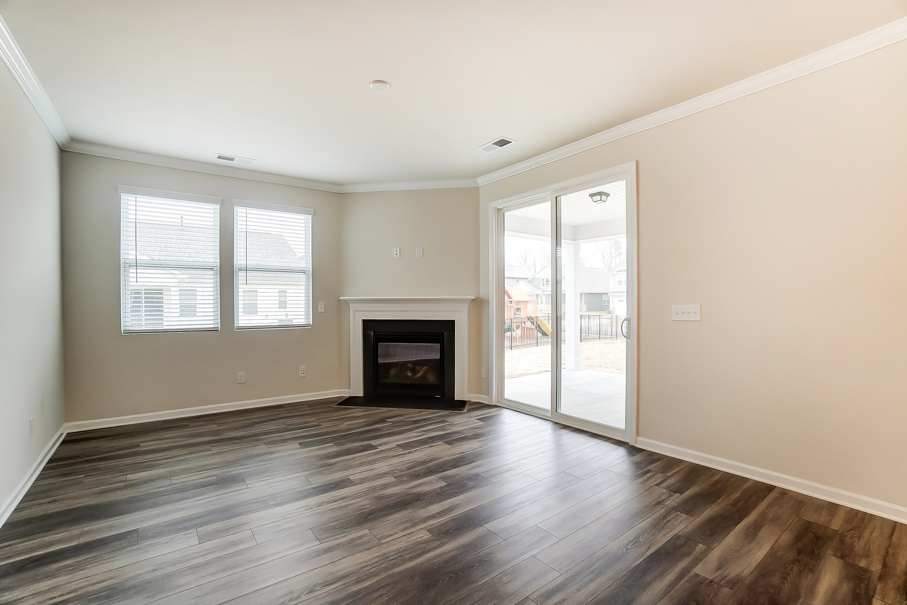 Evelyn Plan Greatroom at Braeburn in Indian Trail North Carolina by Mattamy Homes