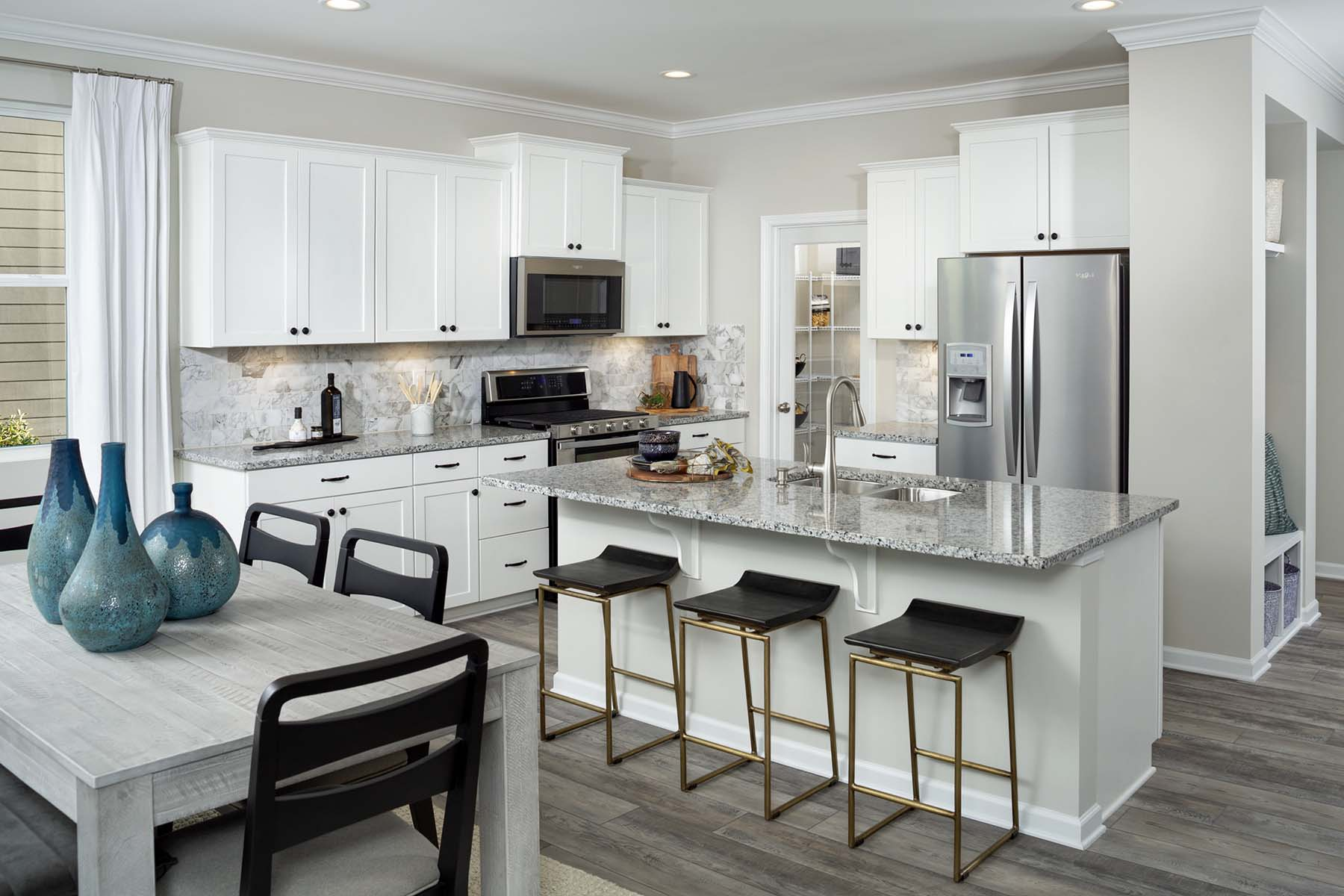 Carsen Glen Kitchen in Charlotte North Carolina by Mattamy Homes