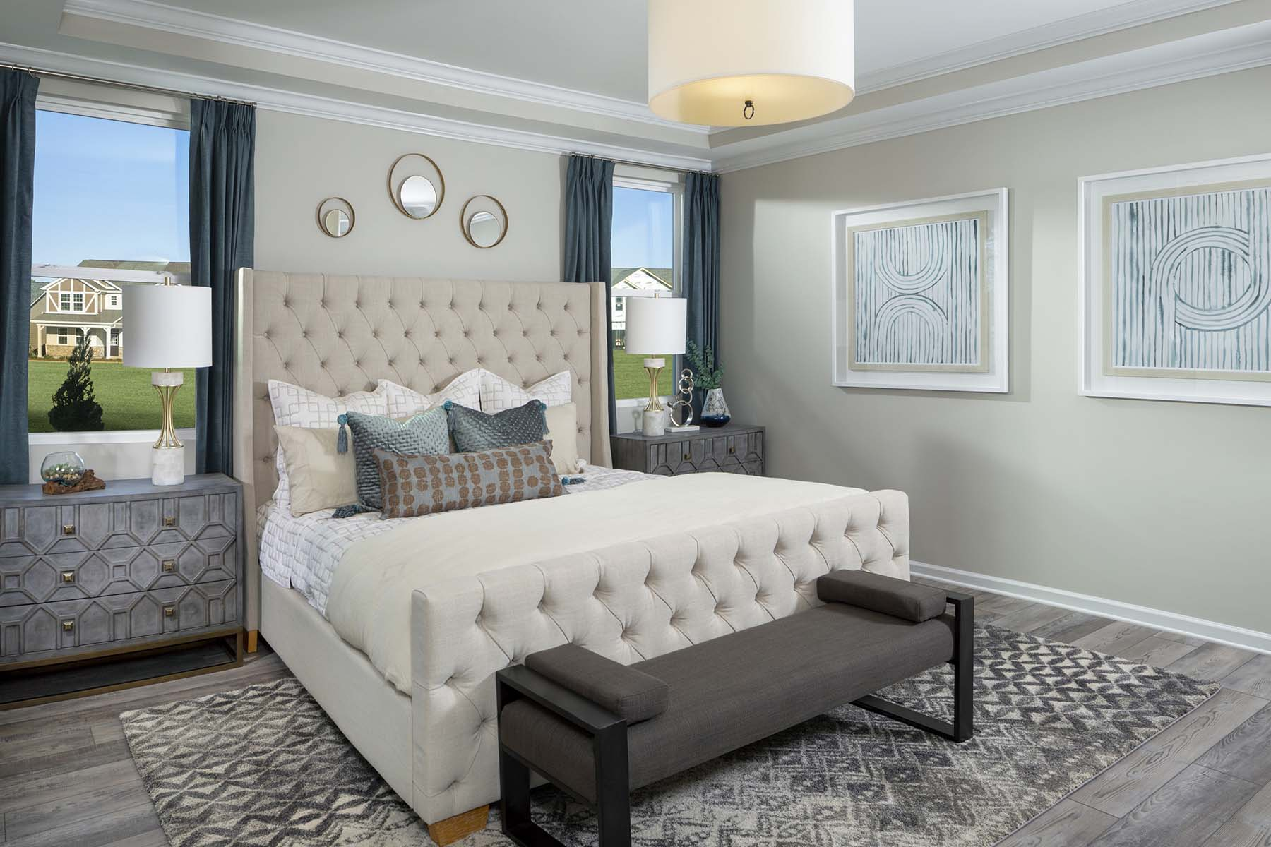 Carsen Glen Bedroom in Charlotte North Carolina by Mattamy Homes