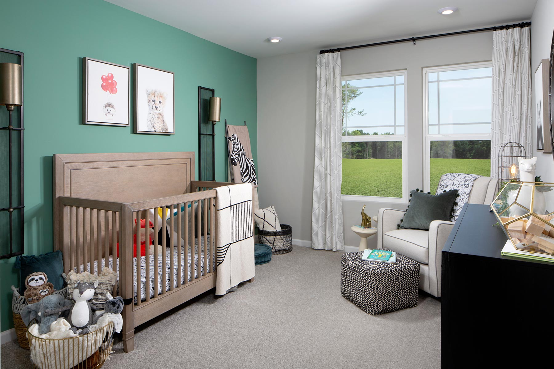 Galloway Park Bedroom in Charlotte North Carolina by Mattamy Homes