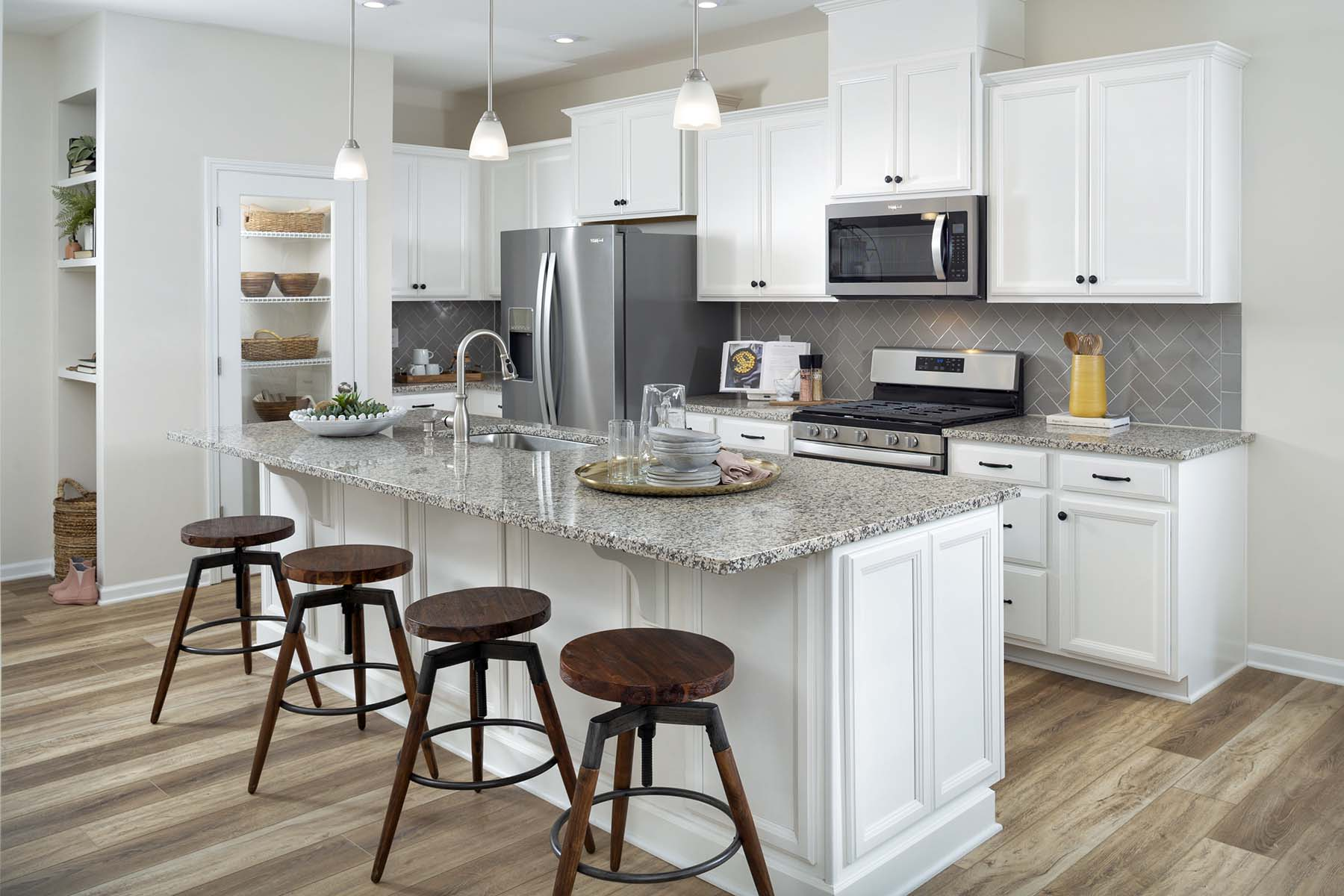 Ava Plan Kitchen at Galloway Park in Charlotte North Carolina by Mattamy Homes