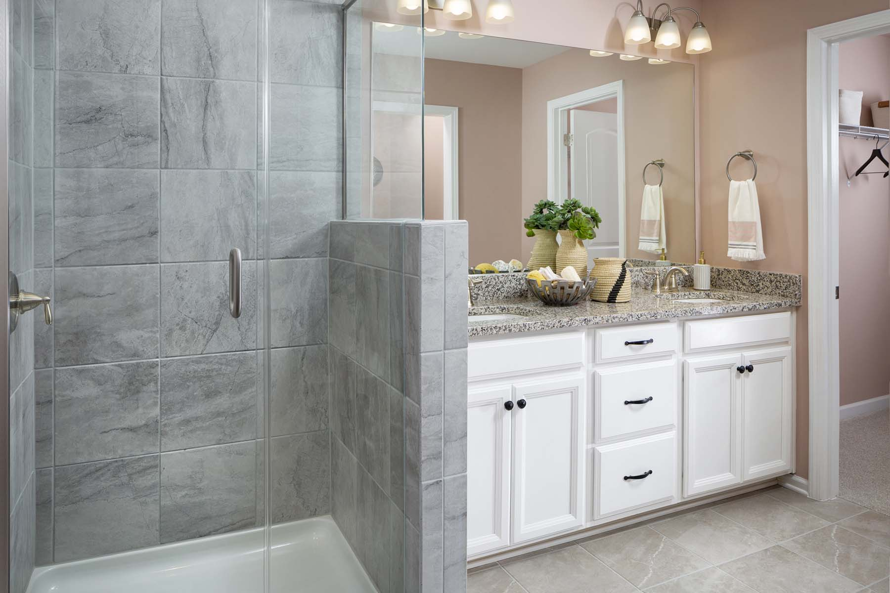 Ava Plan Bathroom_Master Bath at Galloway Park in Charlotte North Carolina by Mattamy Homes