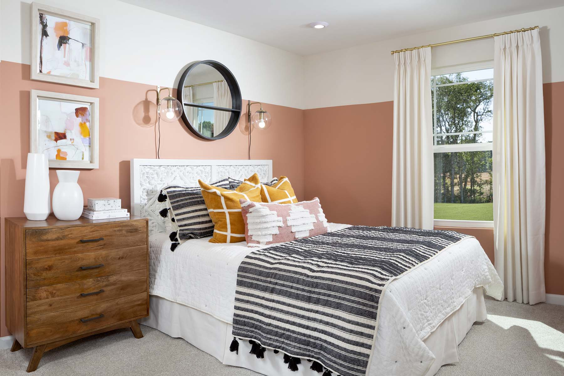 Ava Plan Bedroom at Galloway Park in Charlotte North Carolina by Mattamy Homes