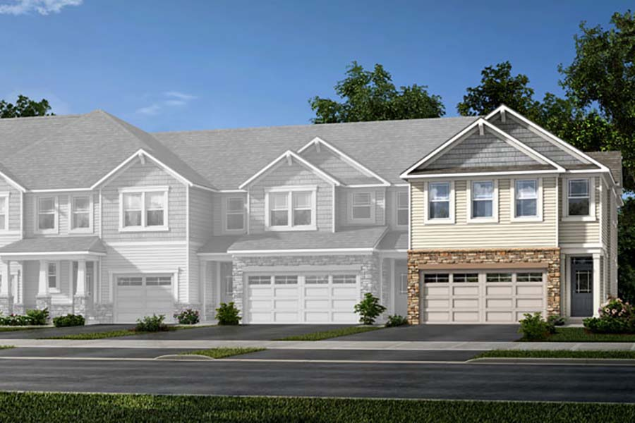 Blayre Plan TownHomes at Galloway Park in Charlotte North Carolina by Mattamy Homes