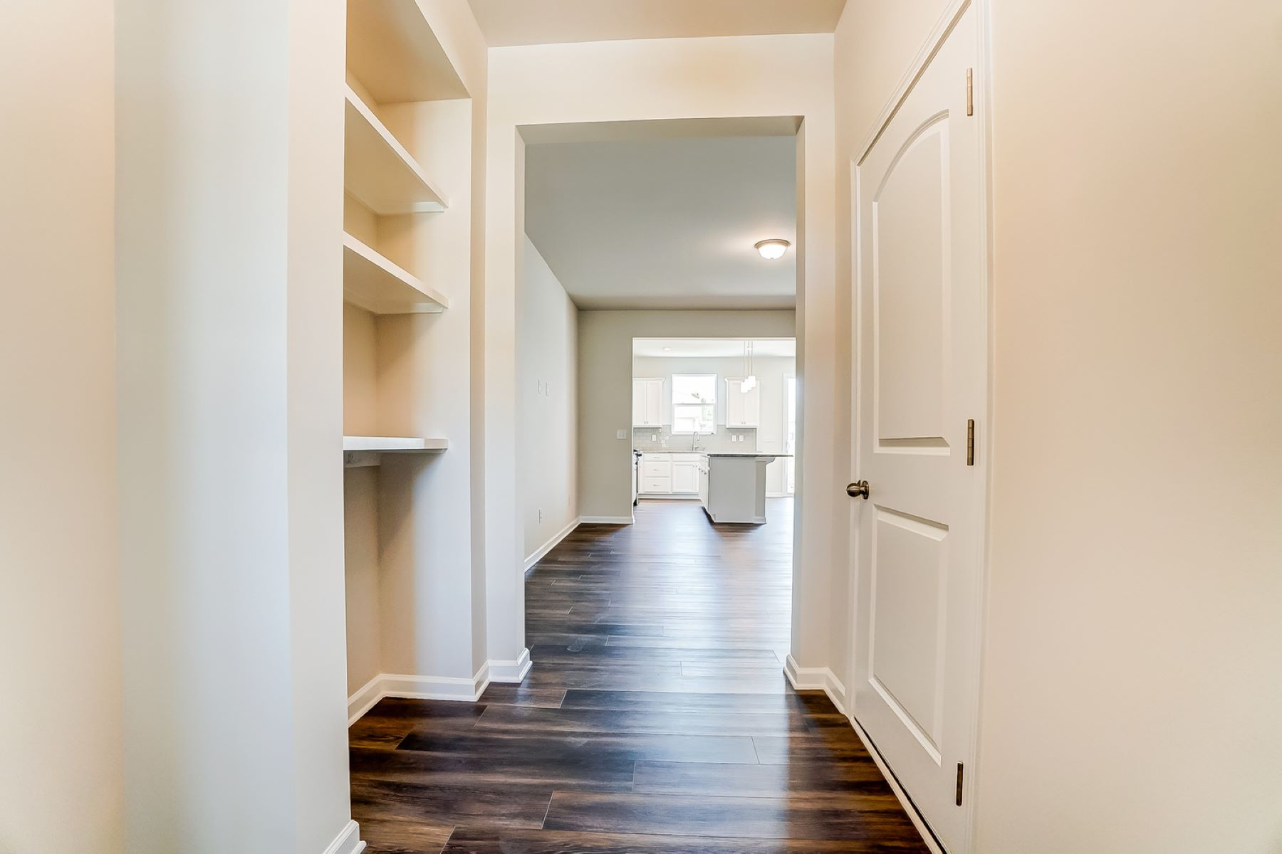 Brooke Plan Foyer at Galloway Park in Charlotte North Carolina by Mattamy Homes