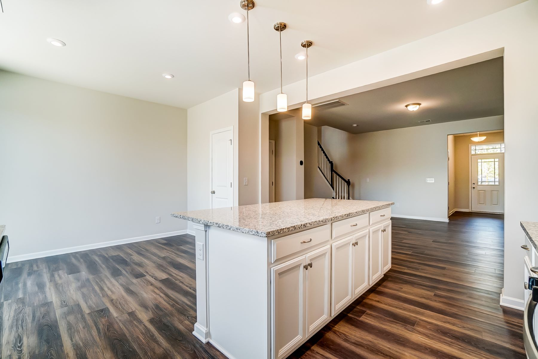 Brooke Plan Kitchen at Galloway Park in Charlotte North Carolina by Mattamy Homes