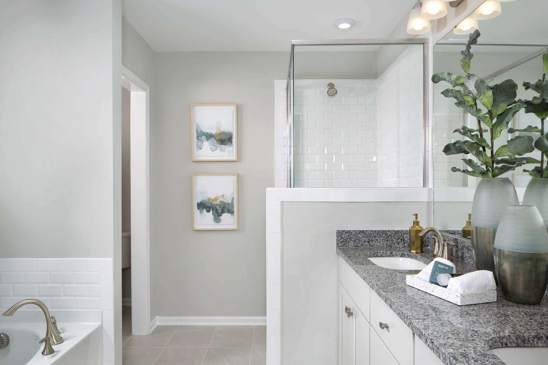 Rodric Plan Bathroom_Master Bath at Galloway Park in Charlotte North Carolina by Mattamy Homes