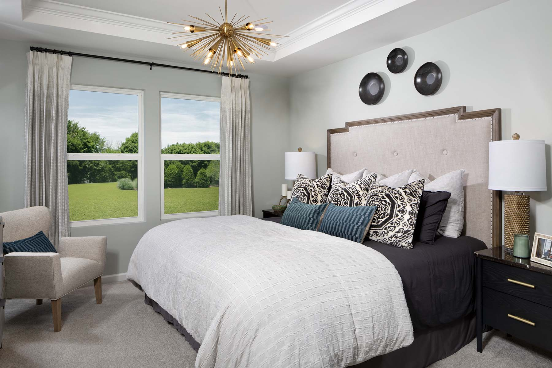 Rodric Plan Bedroom at Galloway Park in Charlotte North Carolina by Mattamy Homes