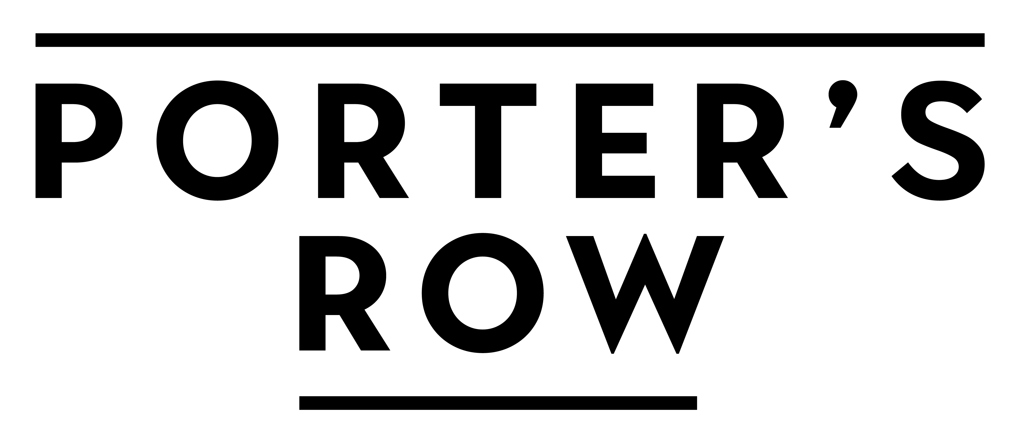 Porter's Row Marketing Logo in Charlotte North Carolina by Mattamy Homes