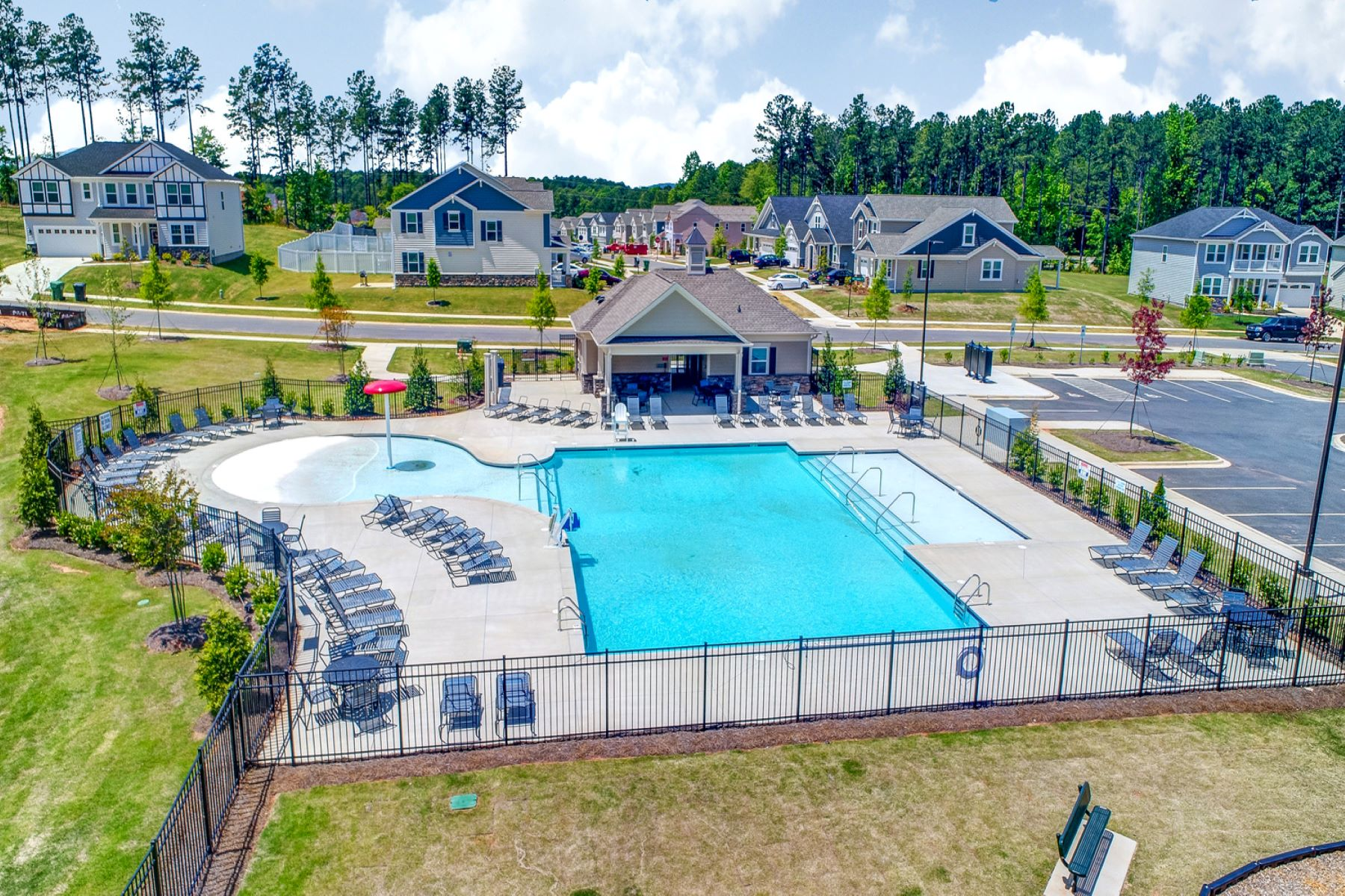 Ridgewater WaterFeatures in Charlotte North Carolina by Mattamy Homes