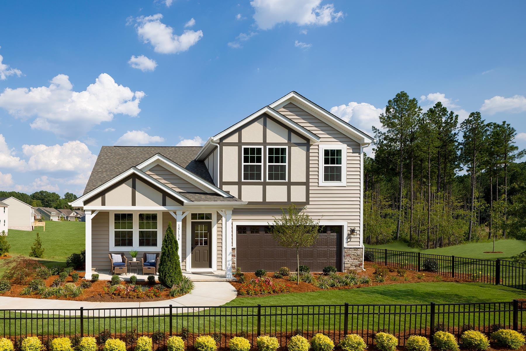 Ridgewater Elevation Front in Charlotte North Carolina by Mattamy Homes