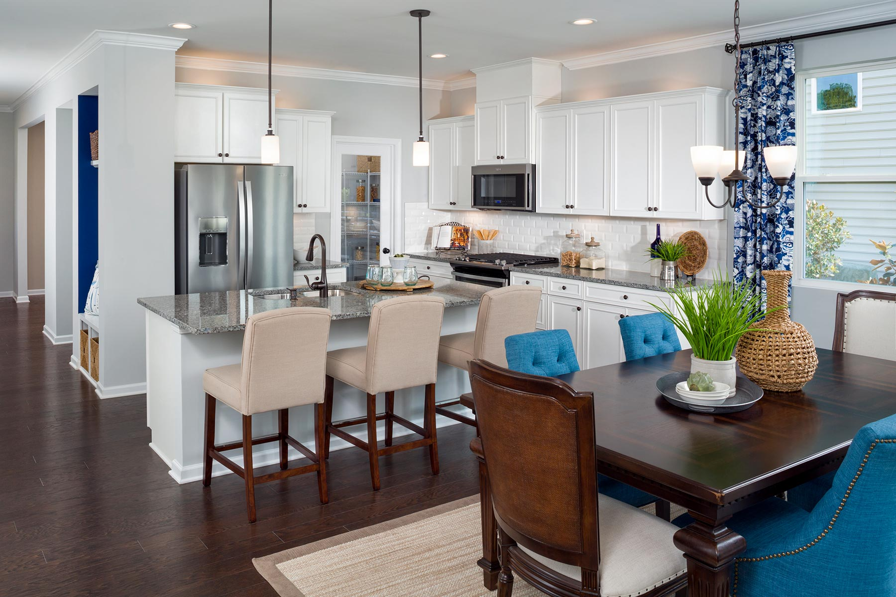 Ridgewater Kitchen in Charlotte North Carolina by Mattamy Homes