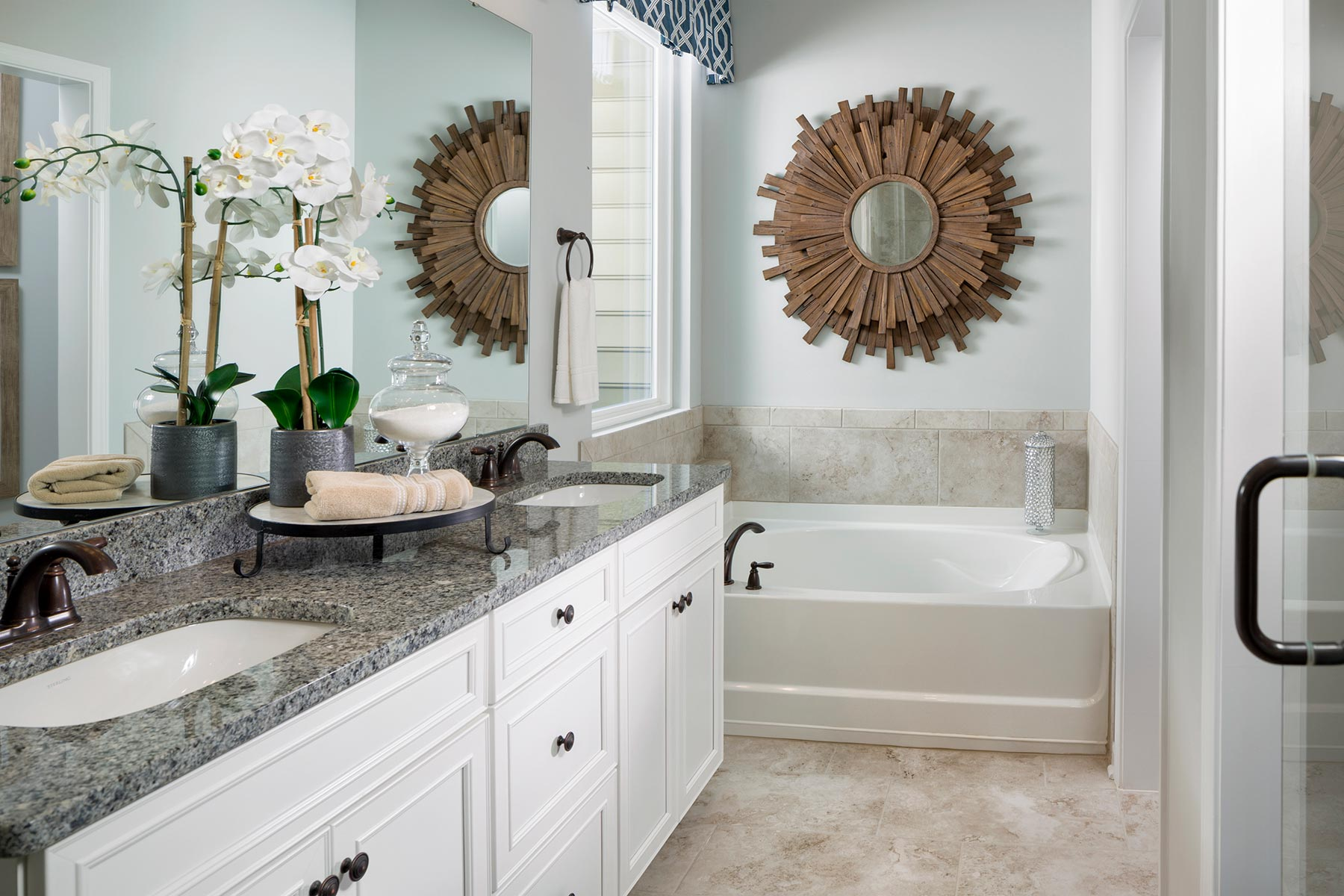 Ridgewater Bathroom_Master Bath in Charlotte North Carolina by Mattamy Homes