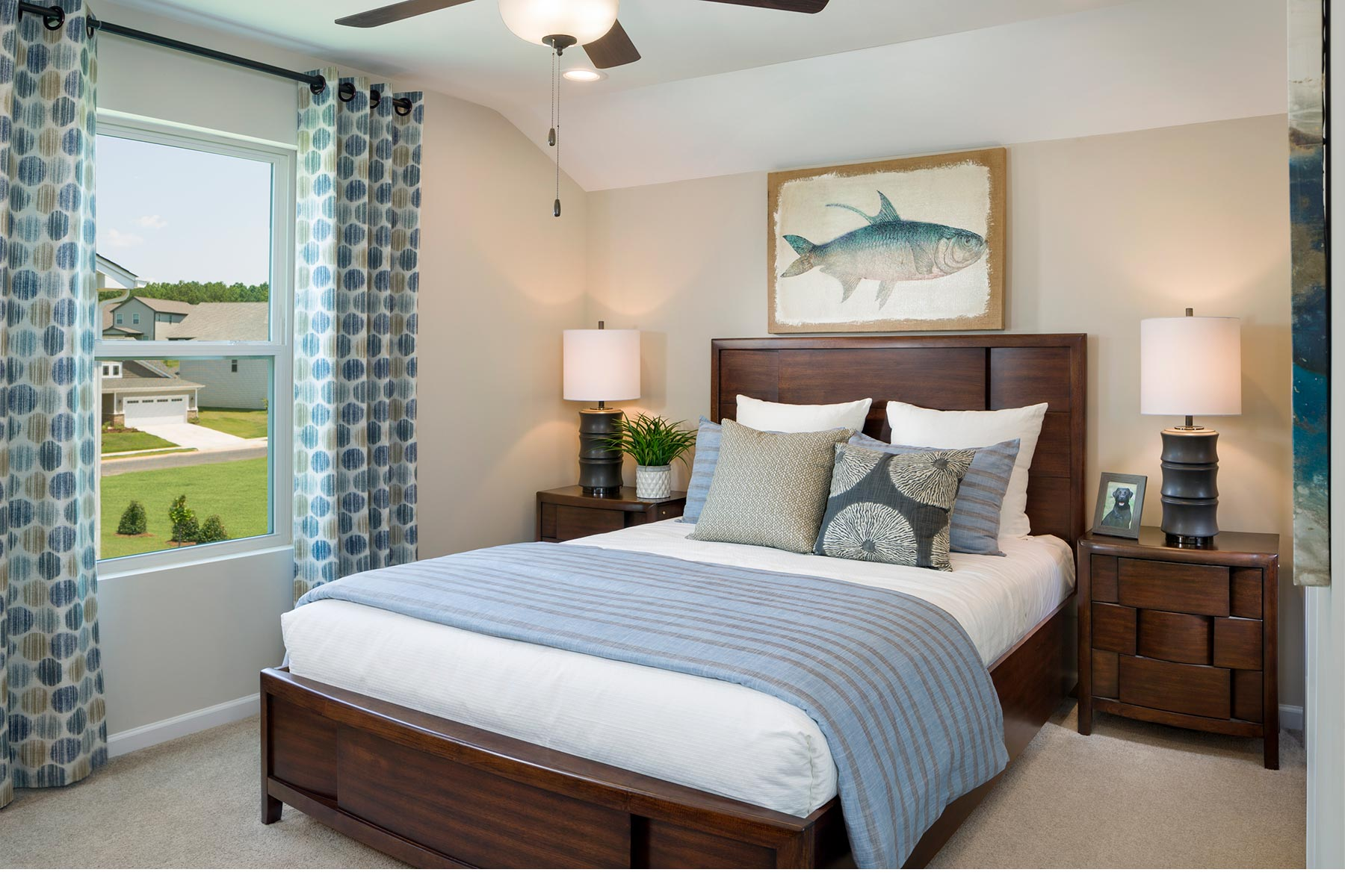 Ridgewater Bedroom in Charlotte North Carolina by Mattamy Homes