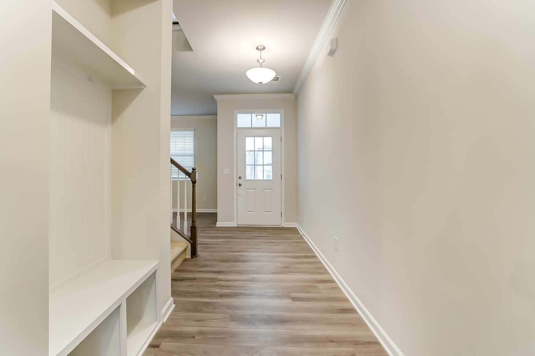 Gaines Plan Foyer at Ridgewater in Charlotte North Carolina by Mattamy Homes